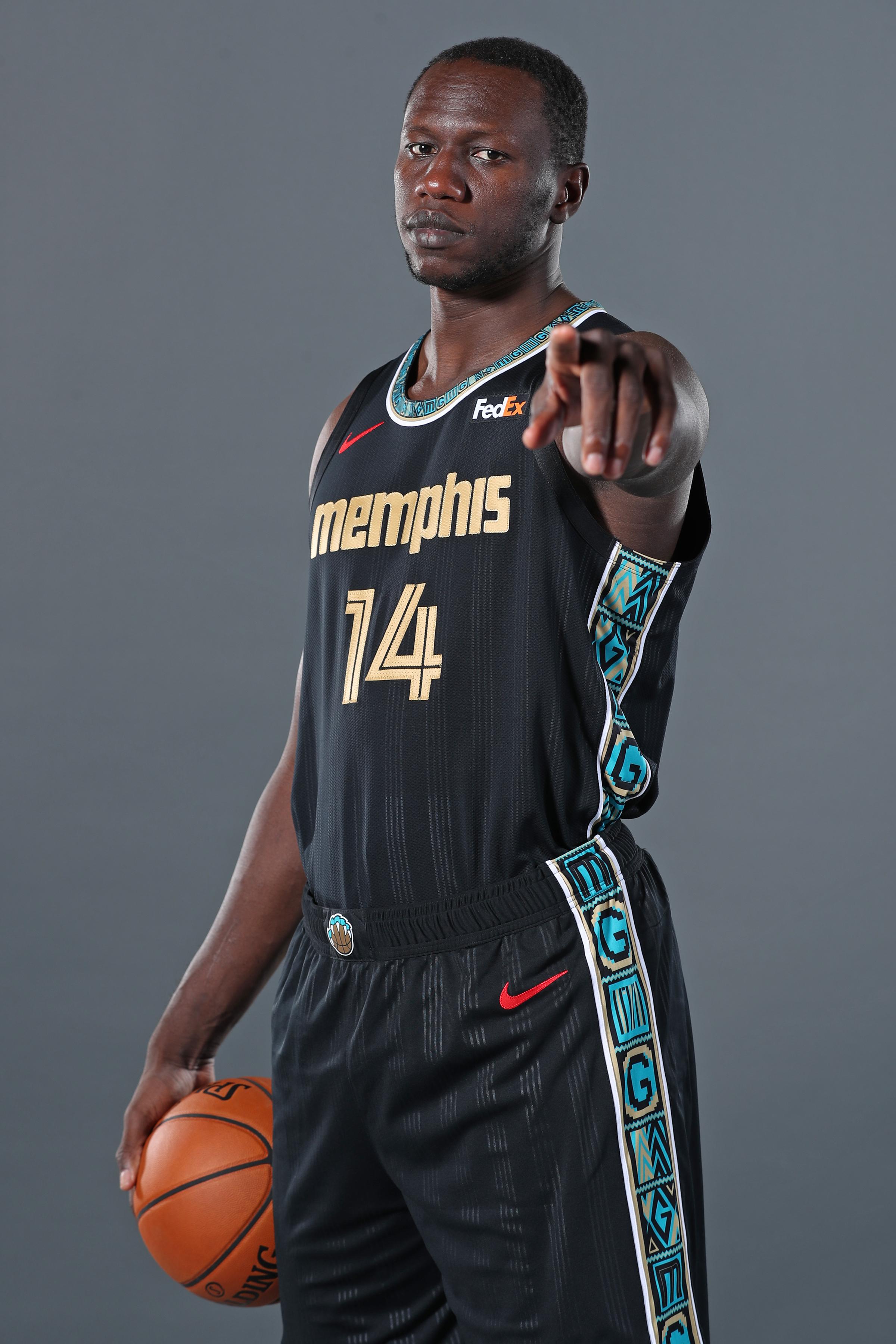2020-21 Memphis Grizzlies Content Day