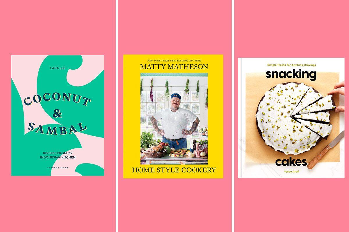 Three cookbook covers
