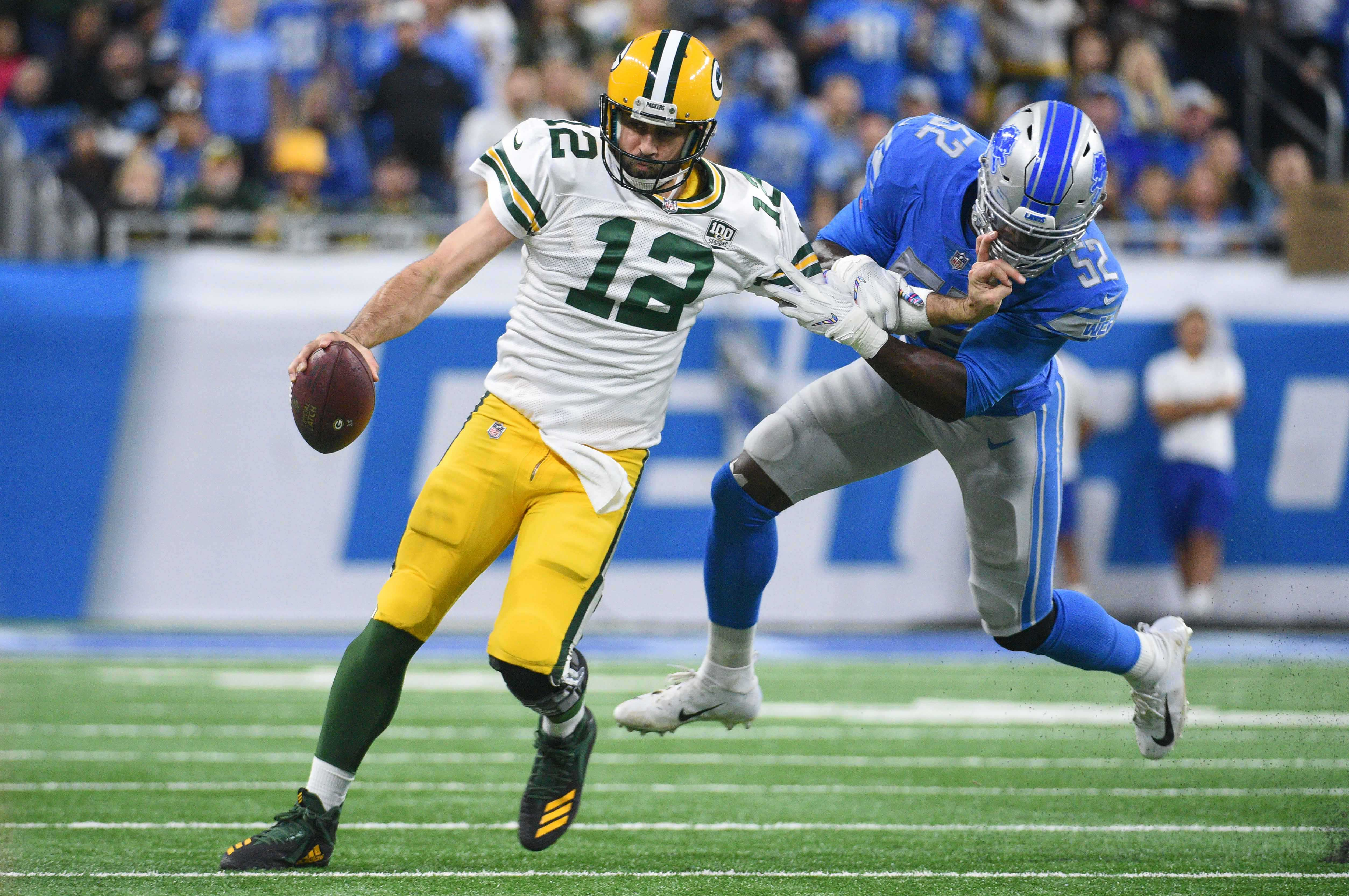 NFL: Green Bay Packers at Detroit Lions