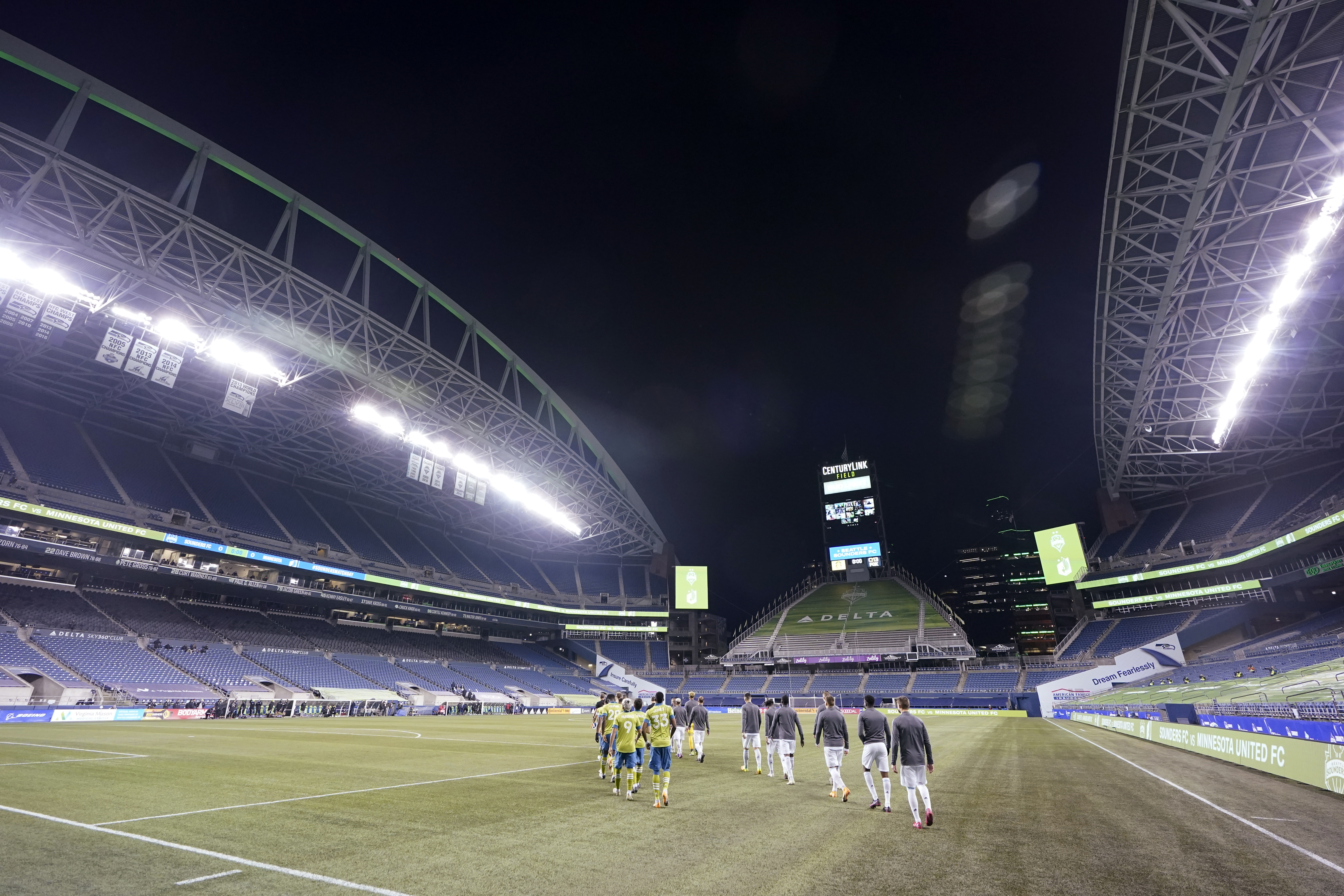 The MLS players union said nearly 20% of its members — about 150 players — tested positive for coronavirus.