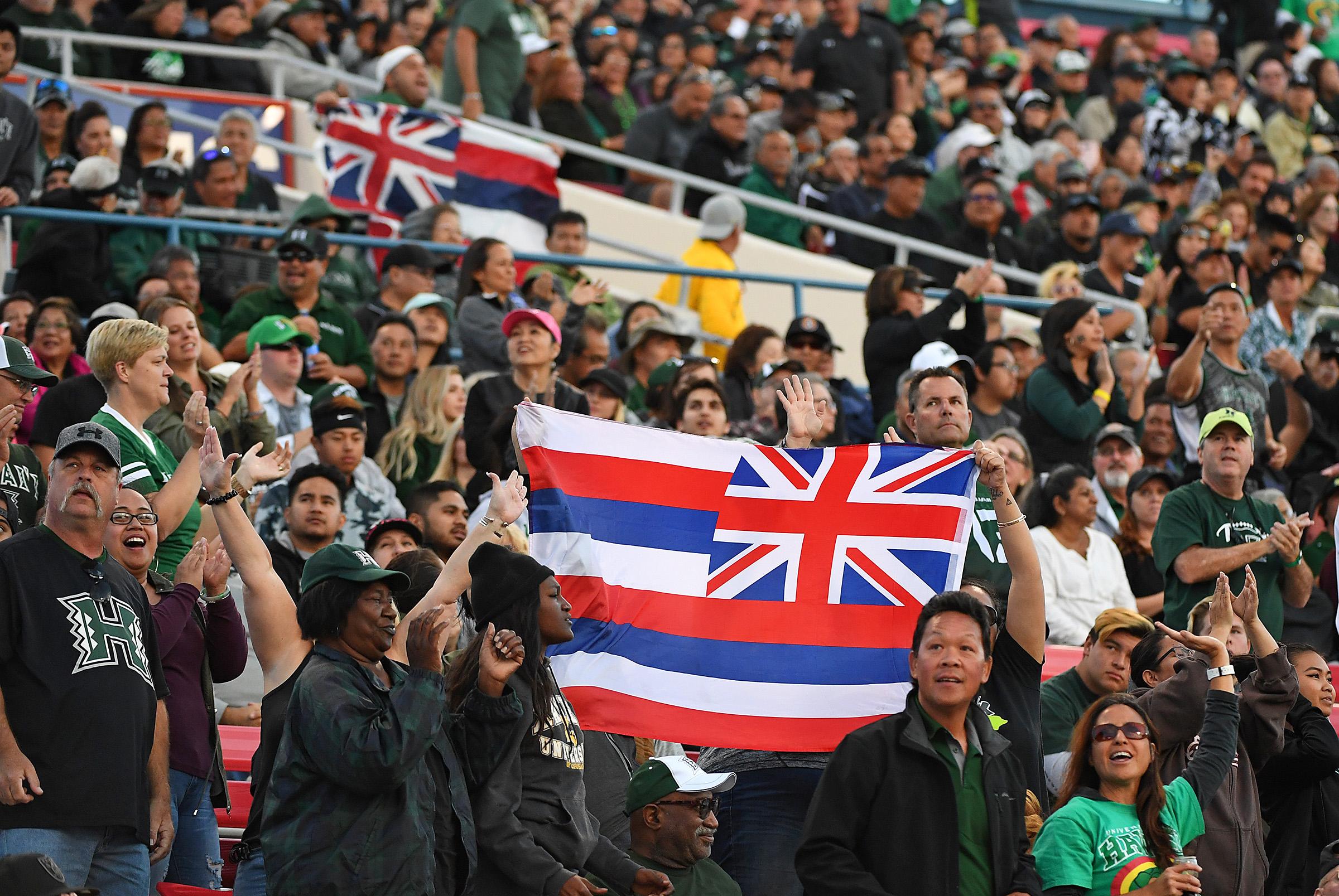 NCAA Football: Hawaii at UNLV