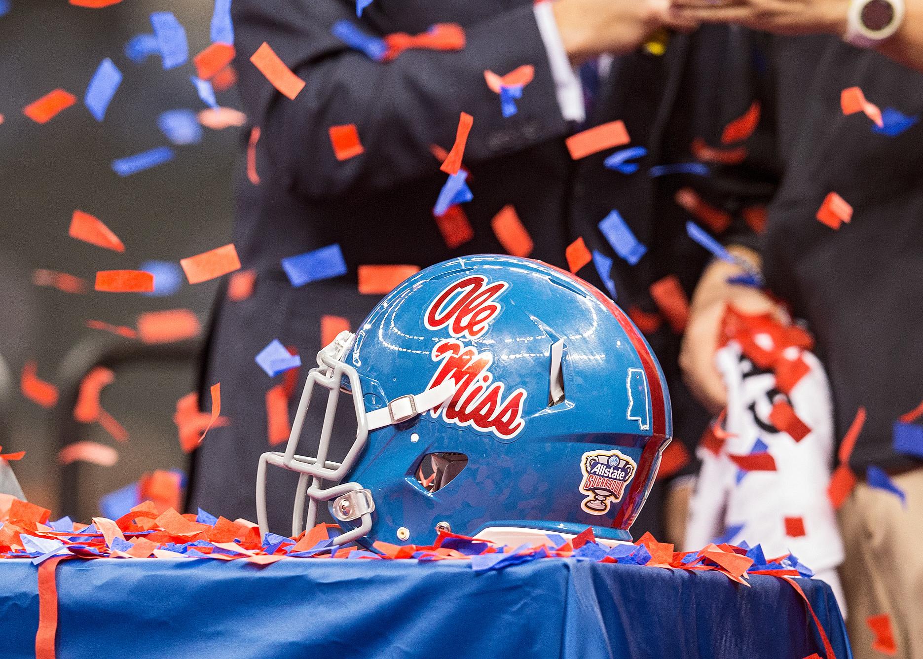 NCAA FOOTBALL: JAN 01 Allstate Sugar Bowl - Oklahoma State v Ole Miss