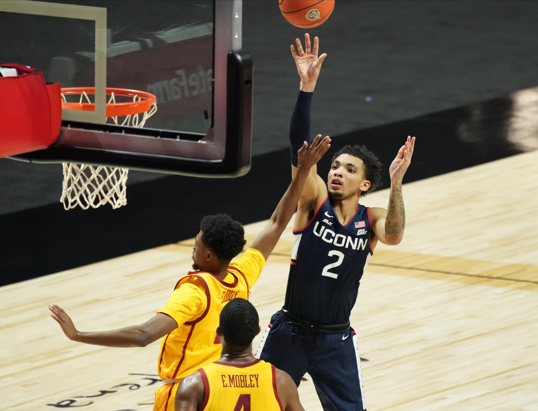 NCAA Basketball: Roman Legends Classic Championship-Connecticut vs USC
