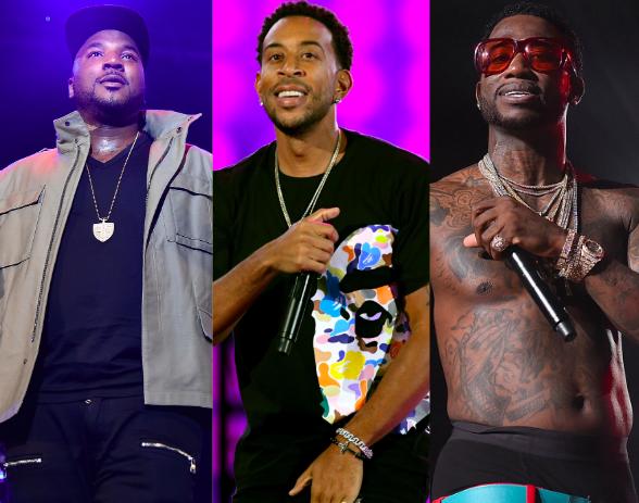 Jeezy, Ludacris, and Gucci Mane