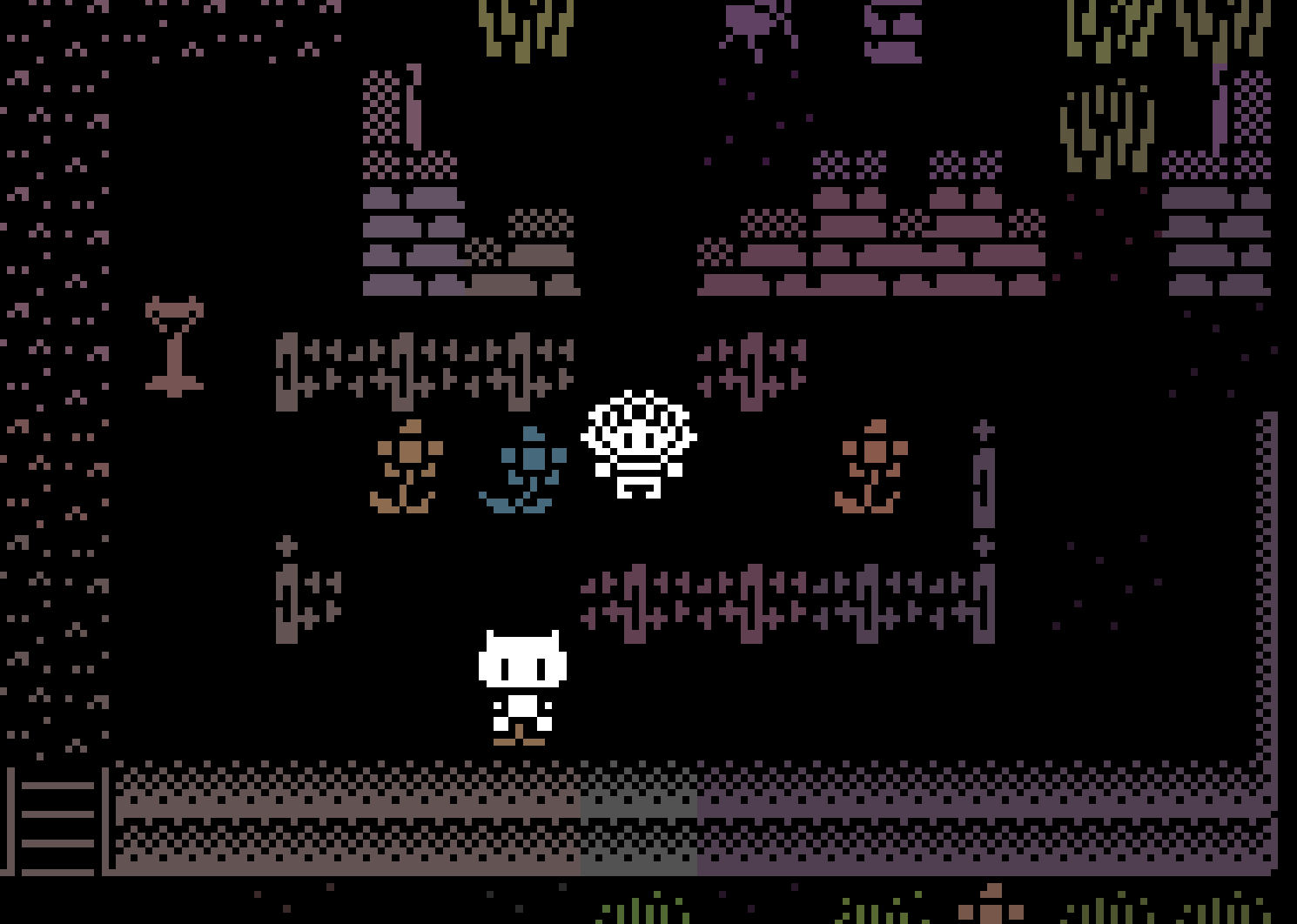 Screenshot from Familiars, a game by Nigel Nelson