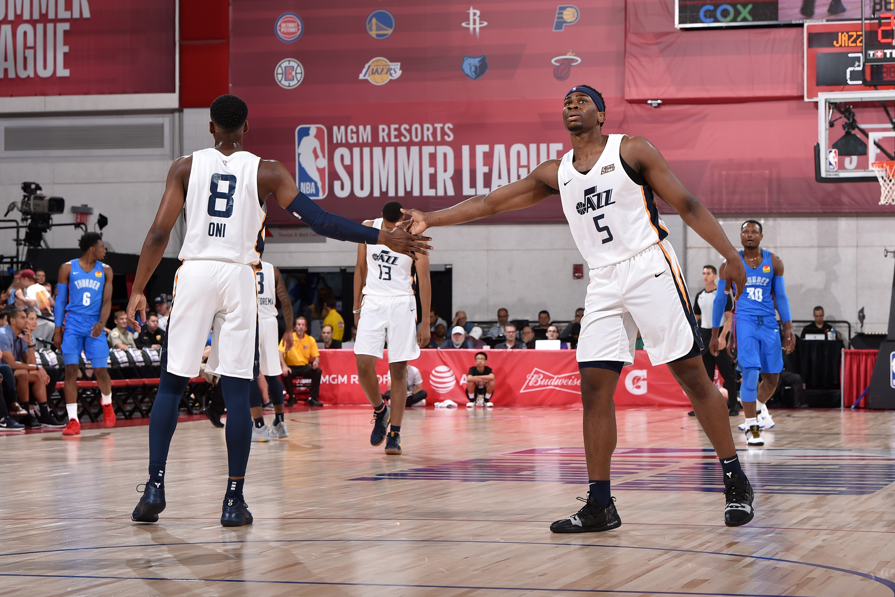 2019 Las Vegas Summer League - Oklahoma City Thunder v Utah Jazz
