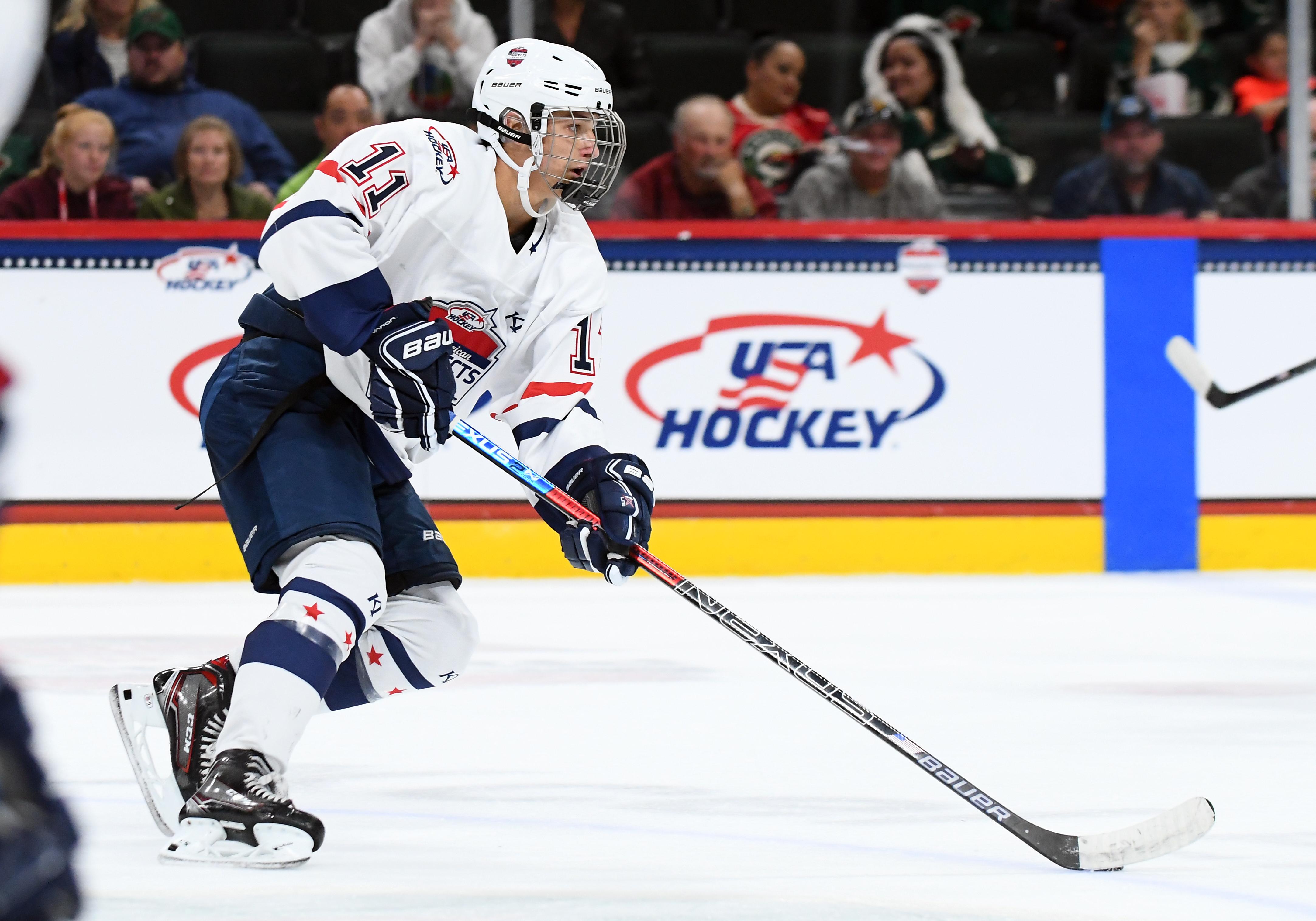 HOCKEY: SEP 19 USA Hockey All-American Prospects Game