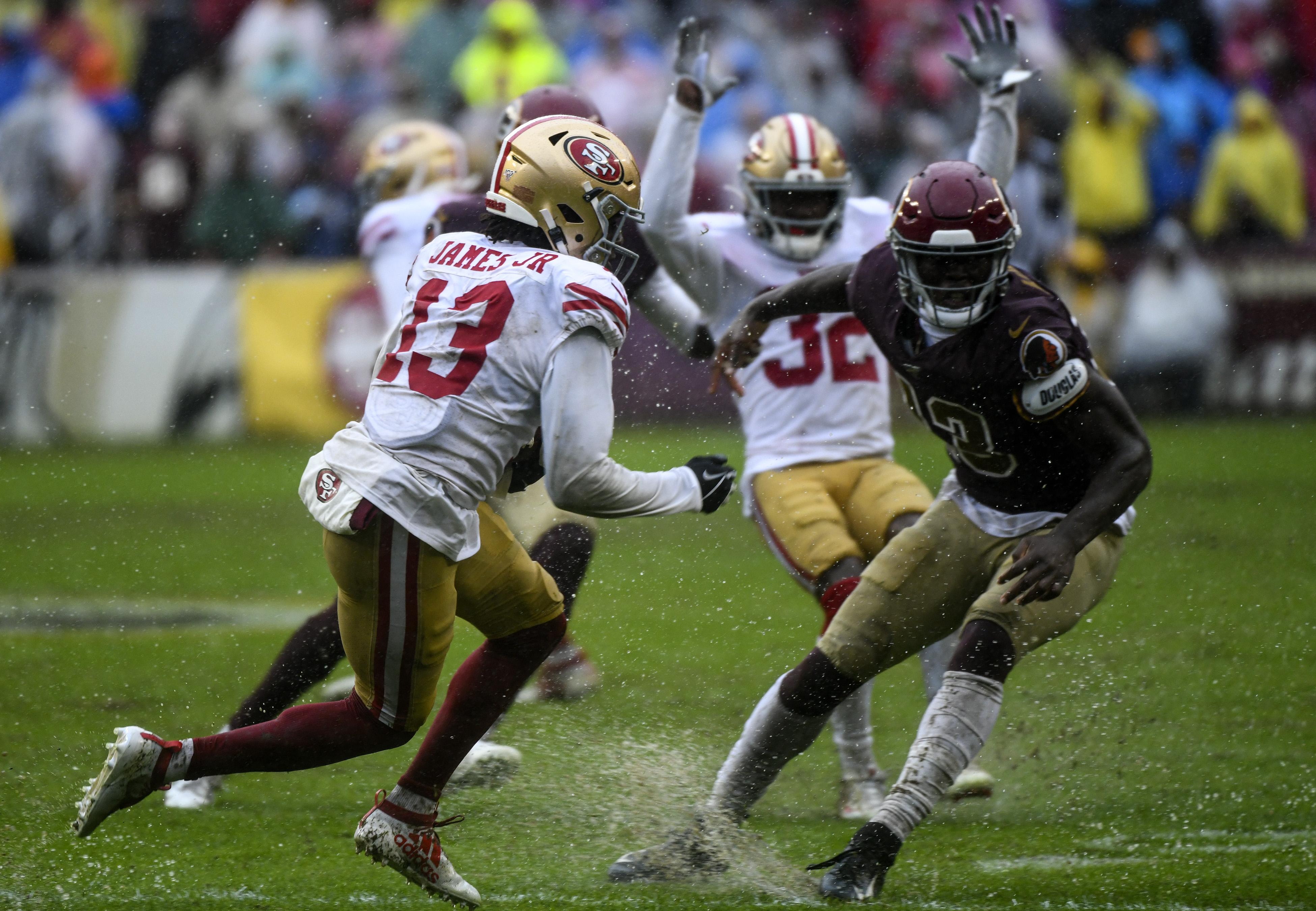NFL: OCT 20 49ers at Redskins