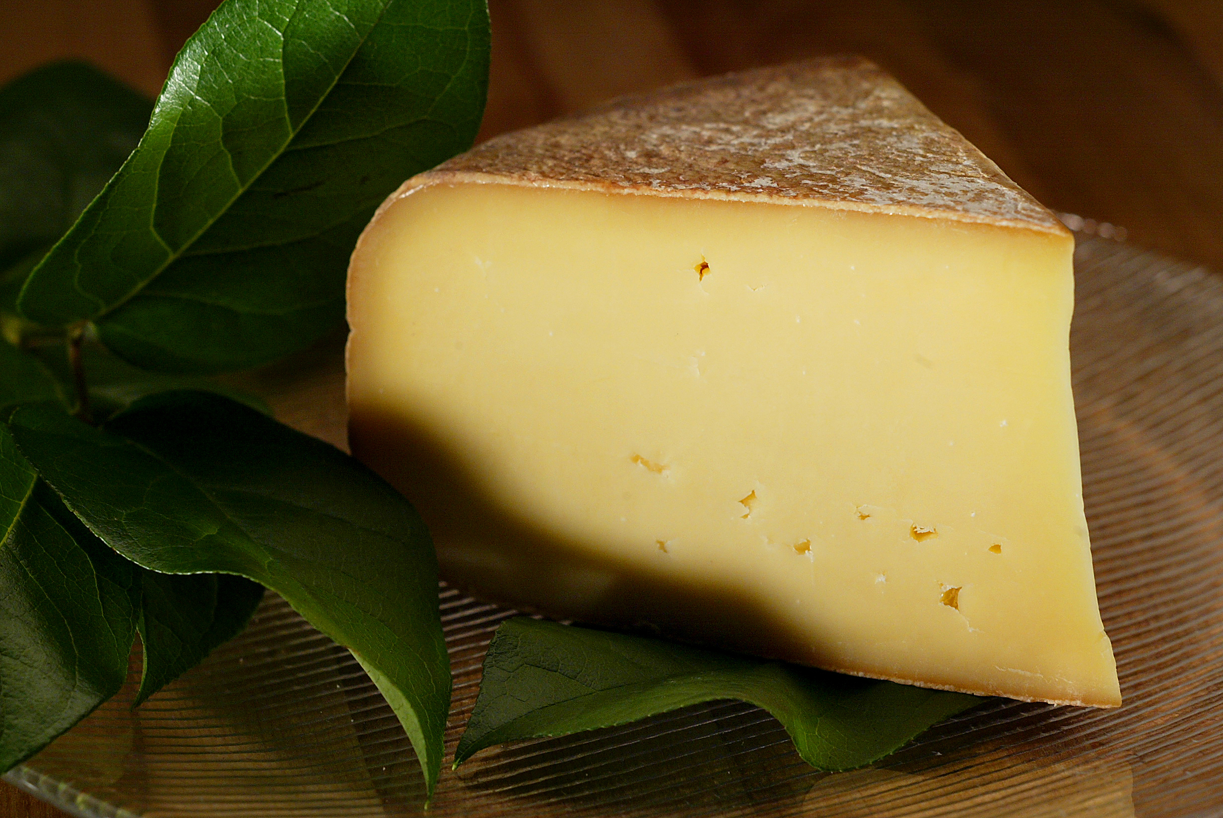 Stuff:Cheese Pleasant Ridge Reserve Cheese from Uplands Cheese Inc, Dodgeville, Wisconsin.