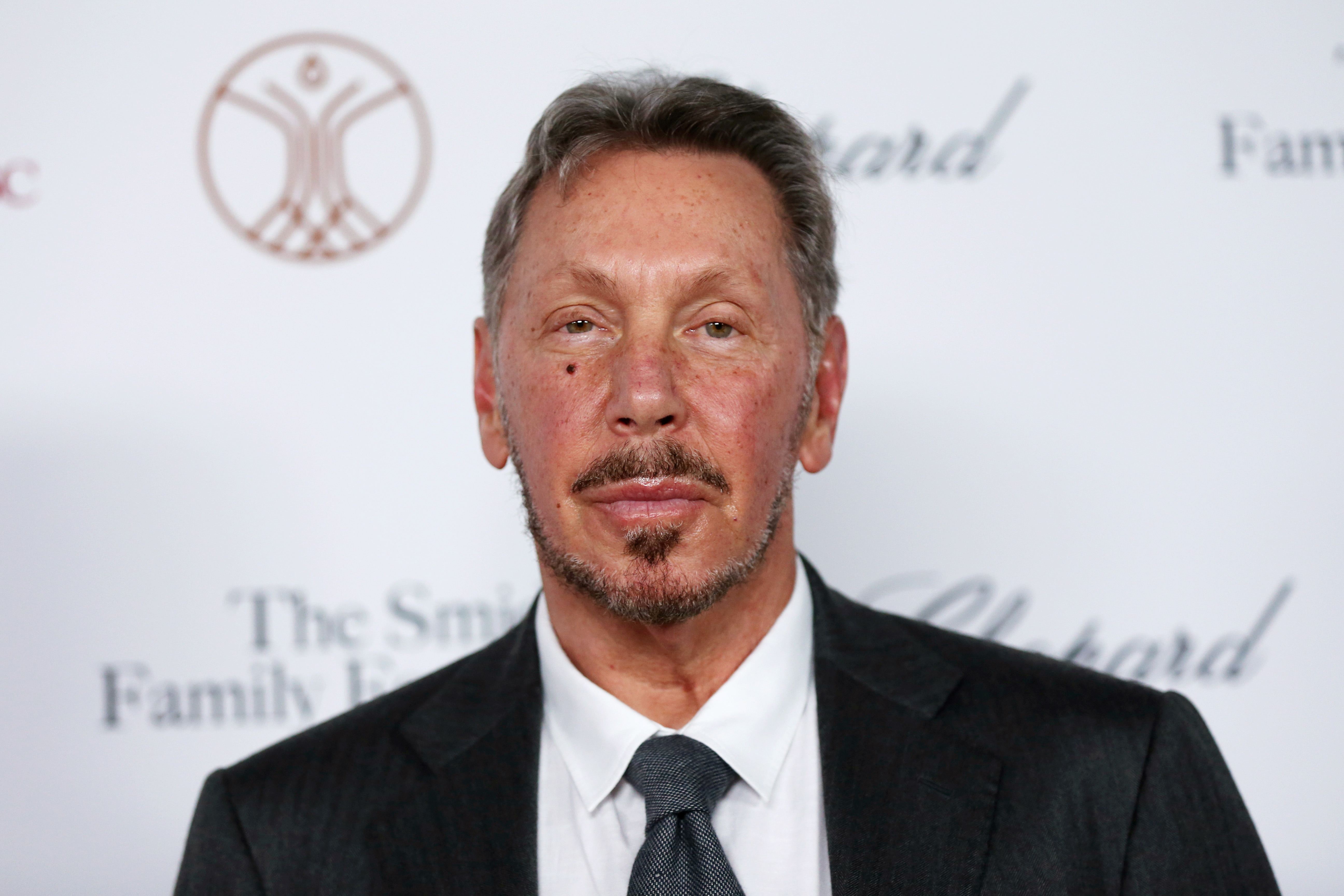 Larry Ellison attends the Rebels With A Cause Gala 2019 at Lawrence J Ellison Institute for Transformative Medicine of USC on October 24, 2019, in Los Angeles, California.