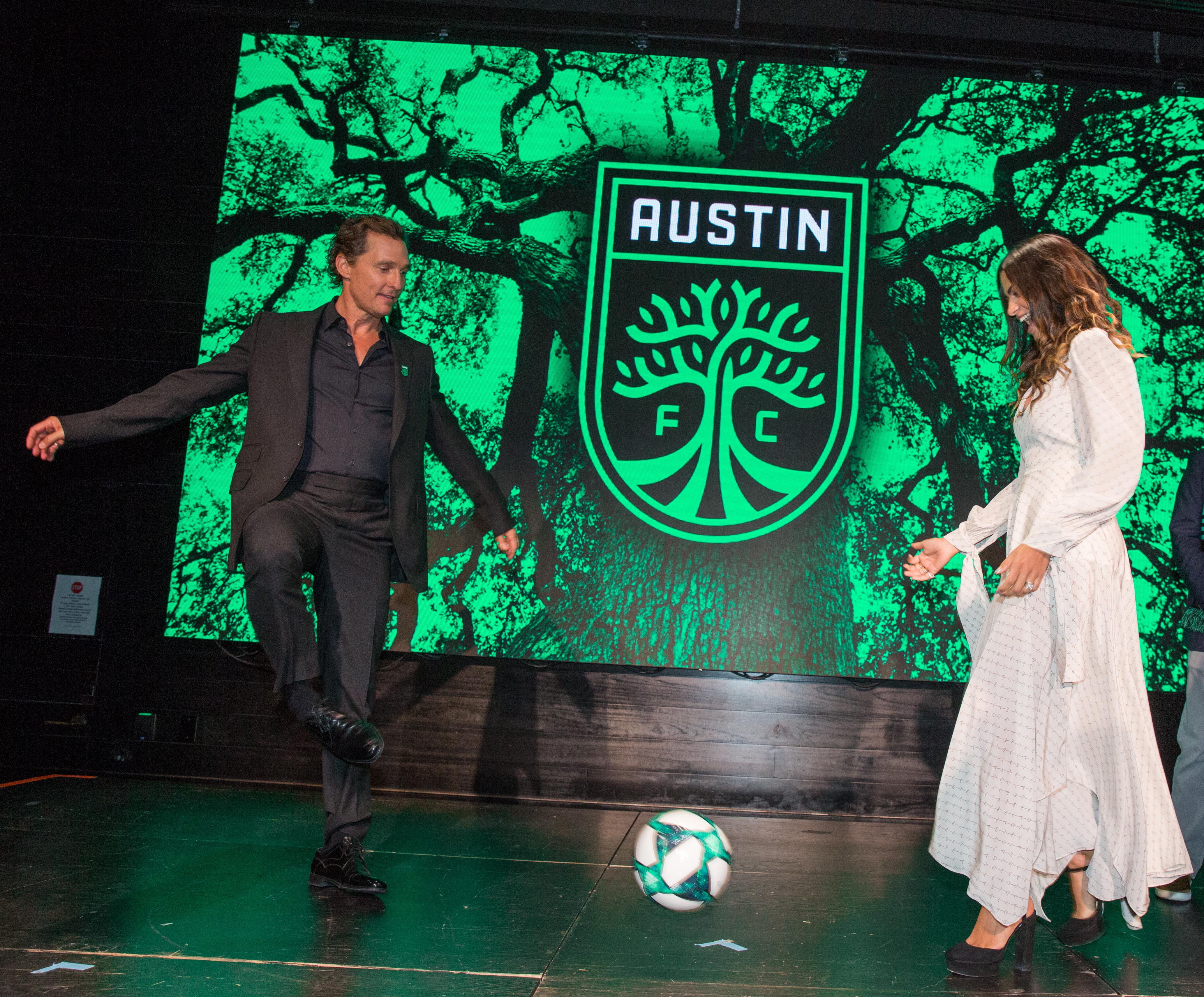 Austin FC Special Announcement Press Conference