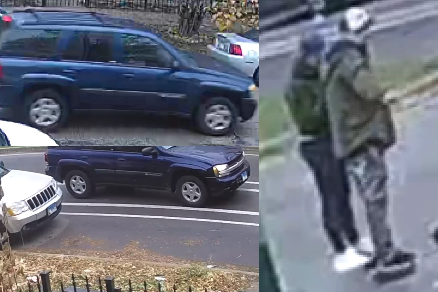Police say this man is wanted for driving a blue Chevrolet Trailblazer and striking a man Dec. 6 in Logan Square.