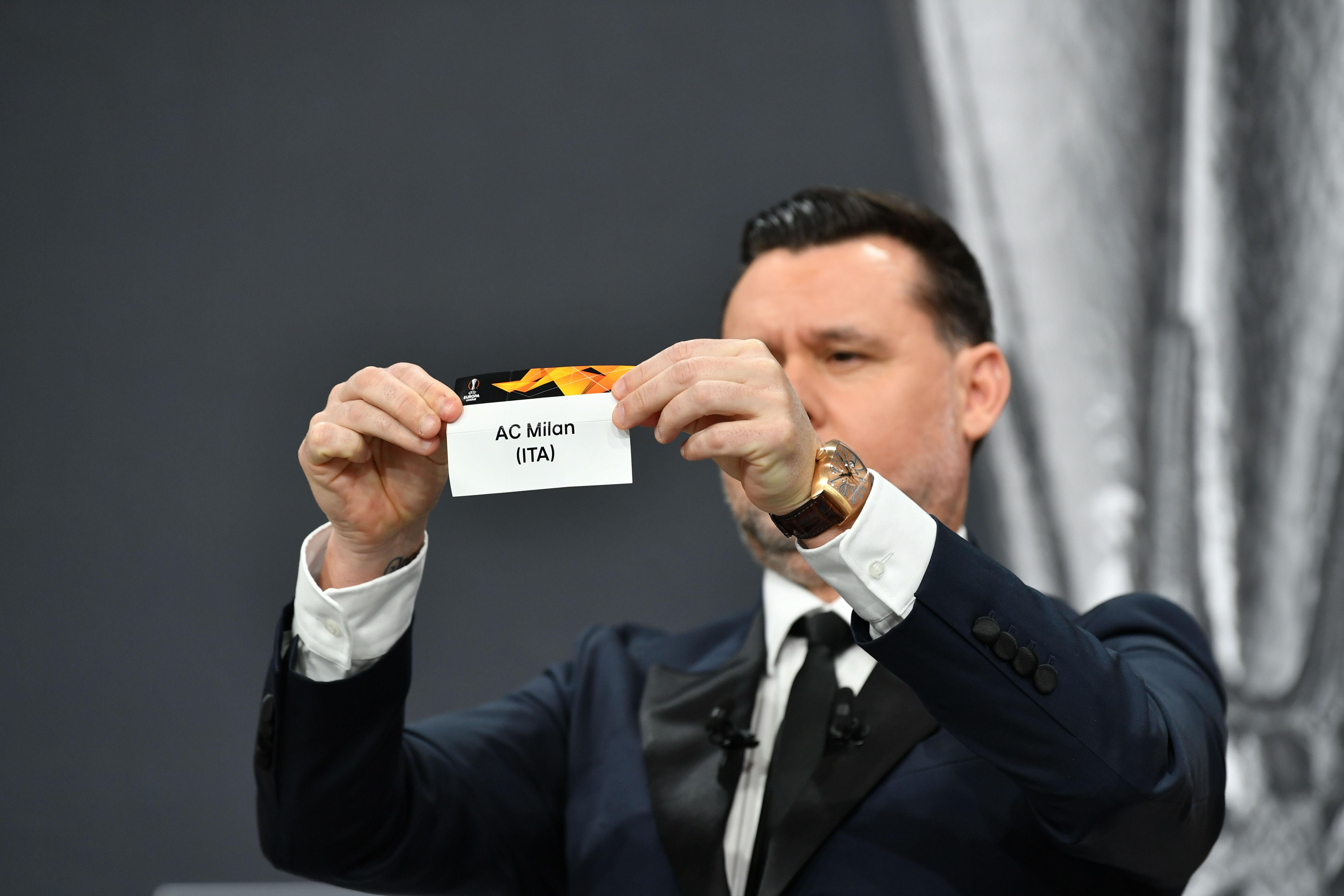 UEFA Europa League 2020/21 Round of 32 Draw