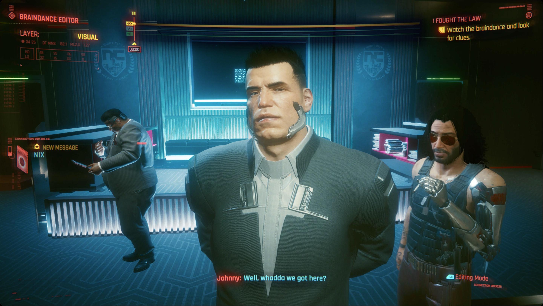 Cyberpunk 2077 braindance guide: I Fought the Law BD walkthrough