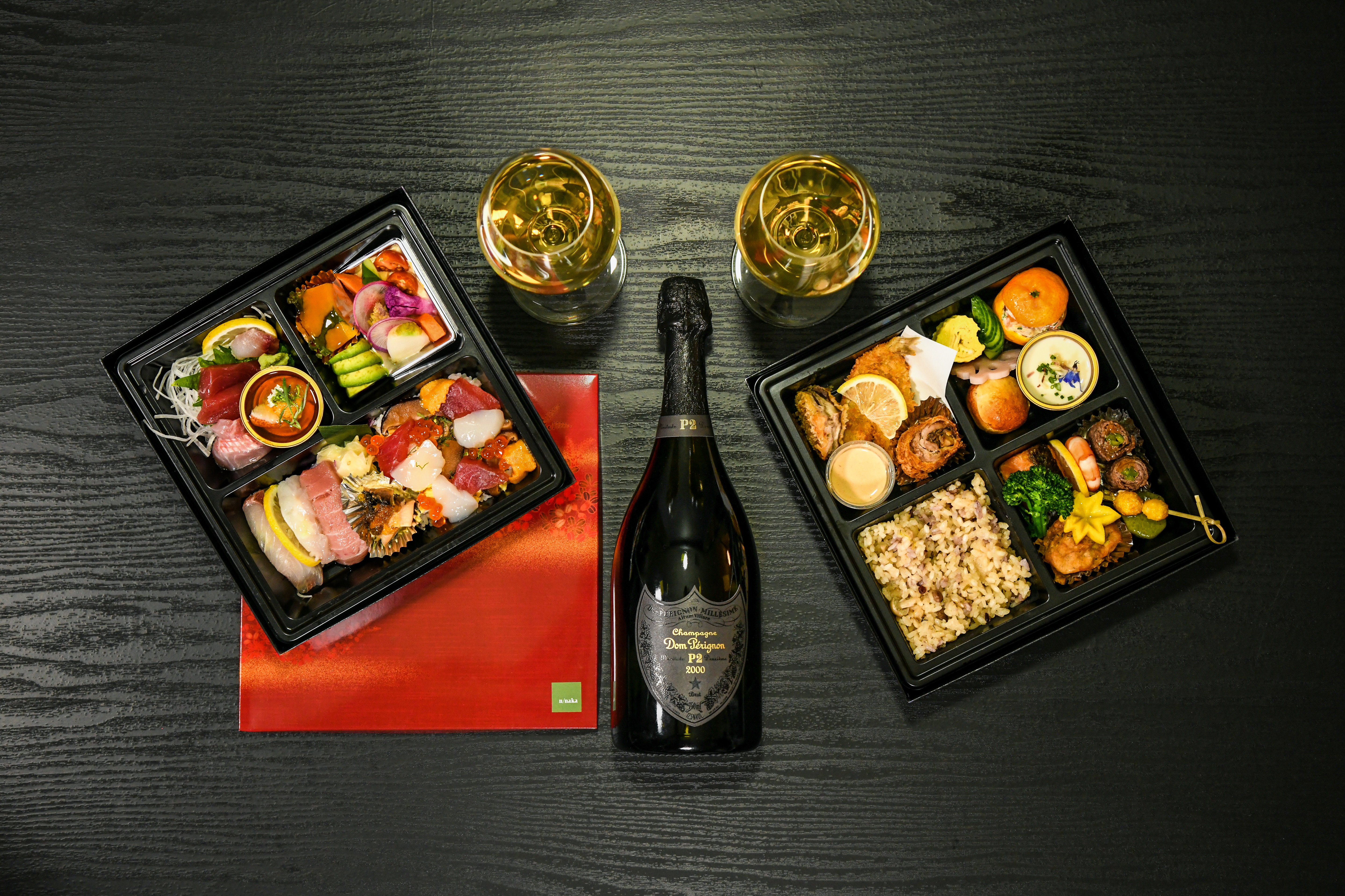 Celebrate the holiday season with bento boxes from n/naka.