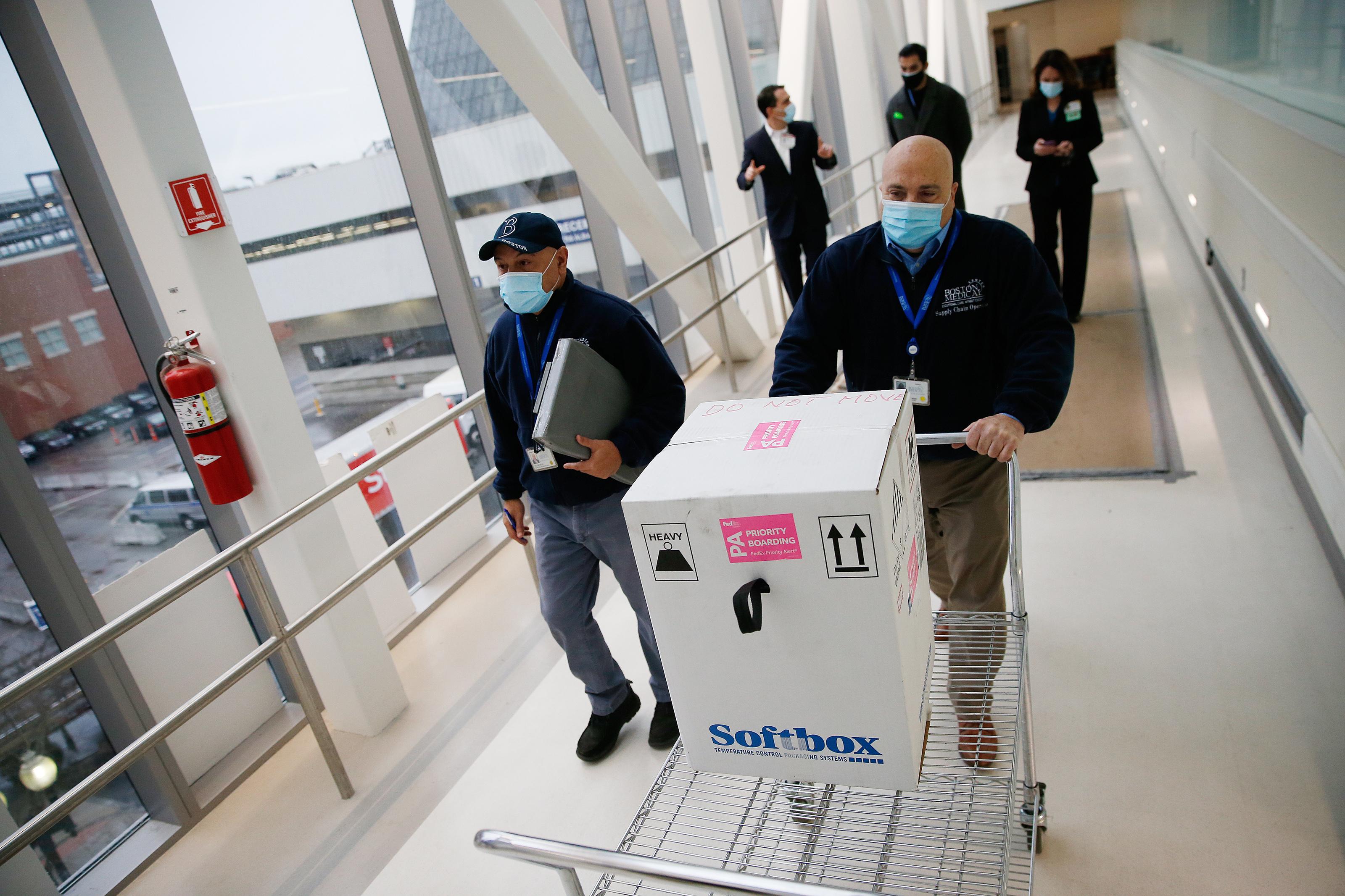 Boston Medical Center Accepts 1,950 Doses of Pfizers COVID-19 Caccine