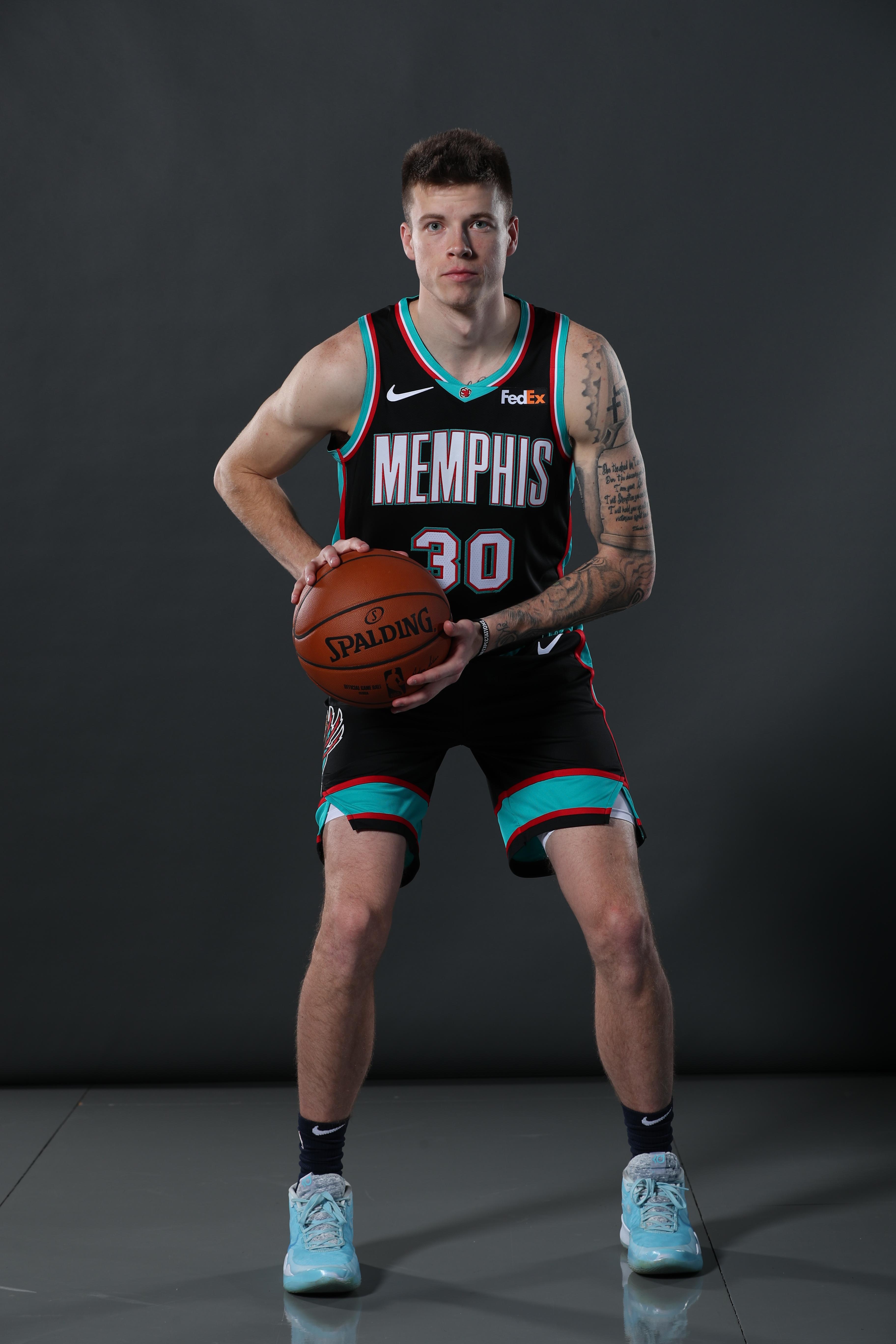 2020-2021 Memphis Grizzlies Content Day