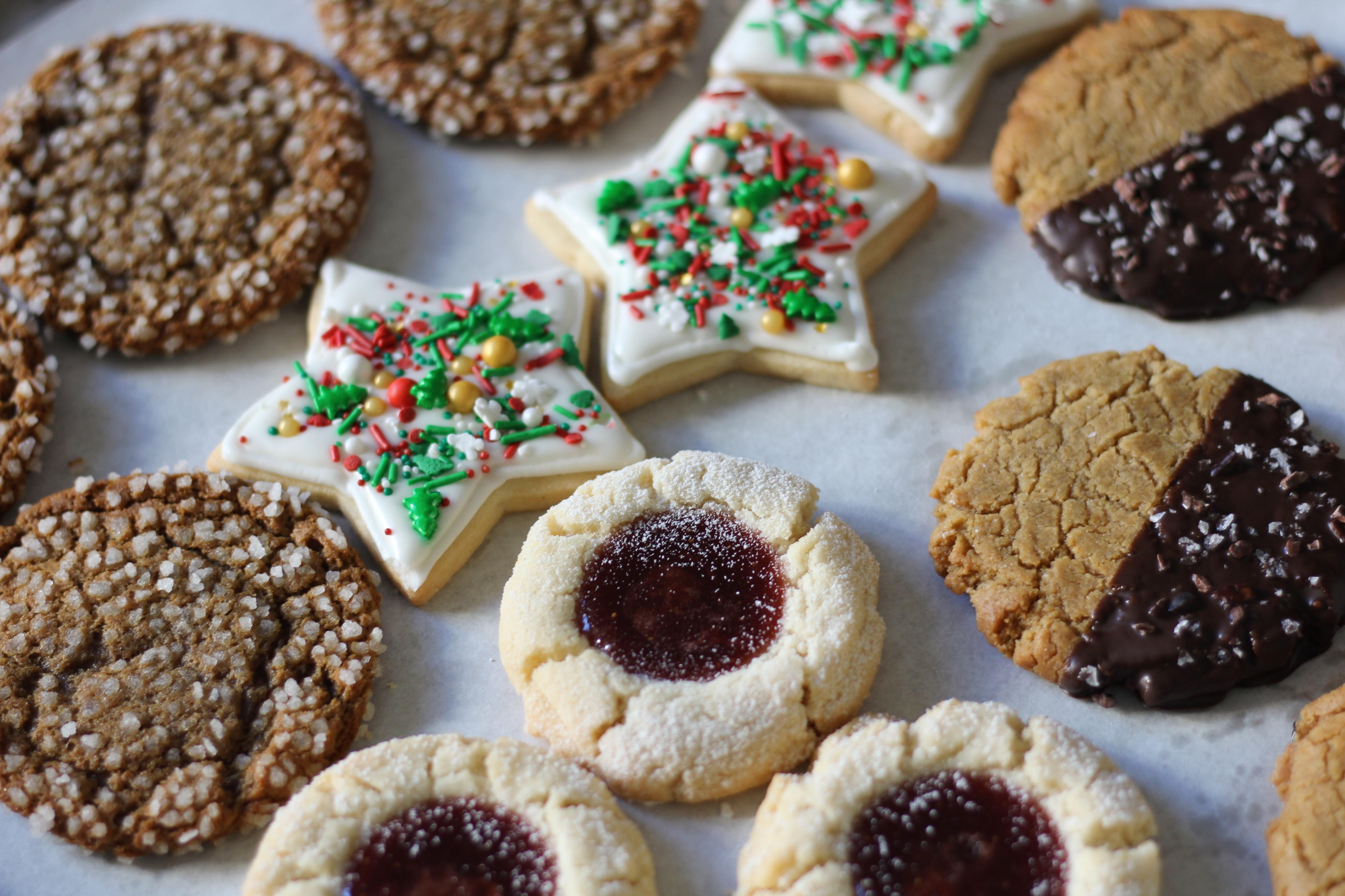Holiday cookies from Mañana