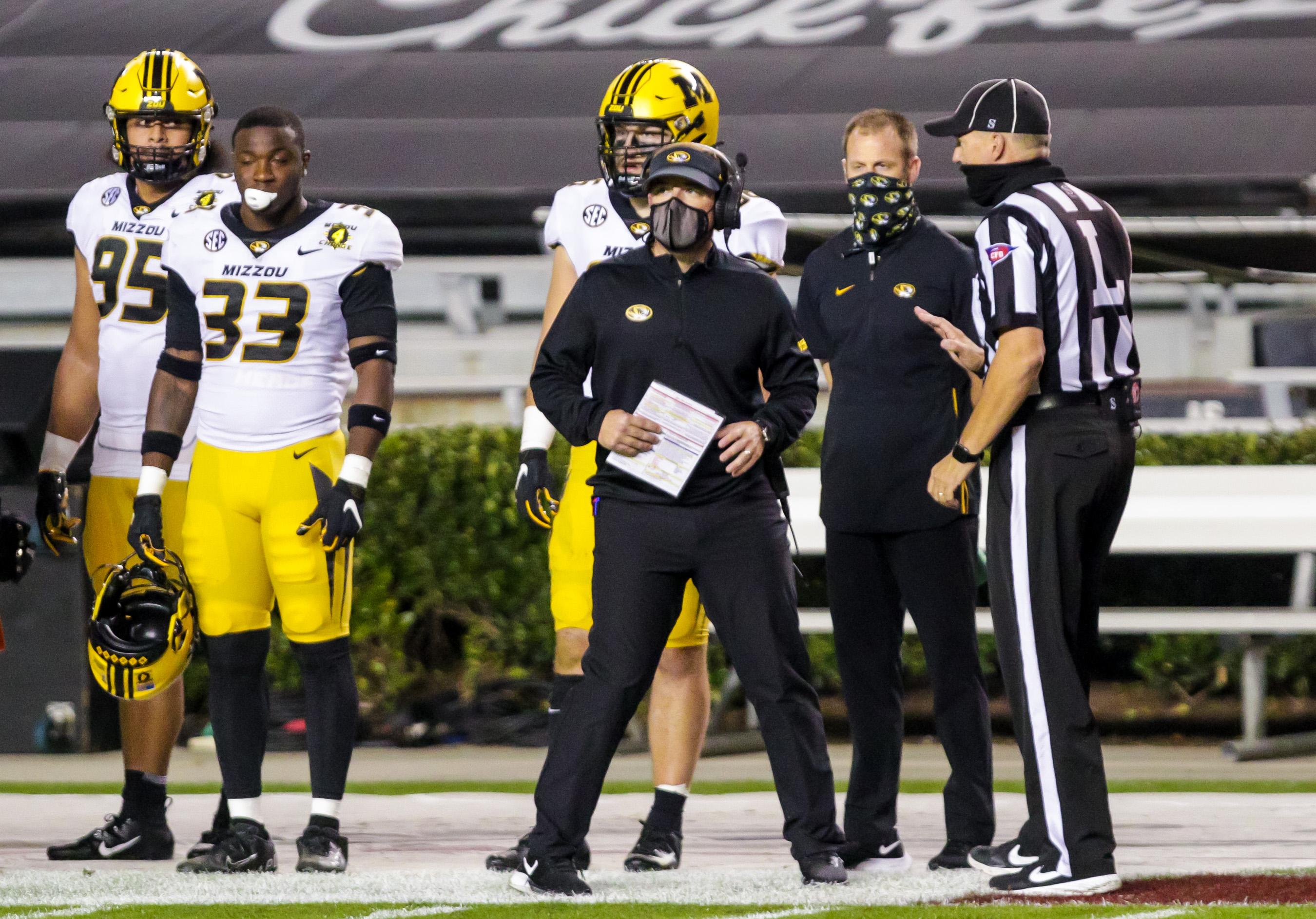 NCAA Football: Missouri at South Carolina