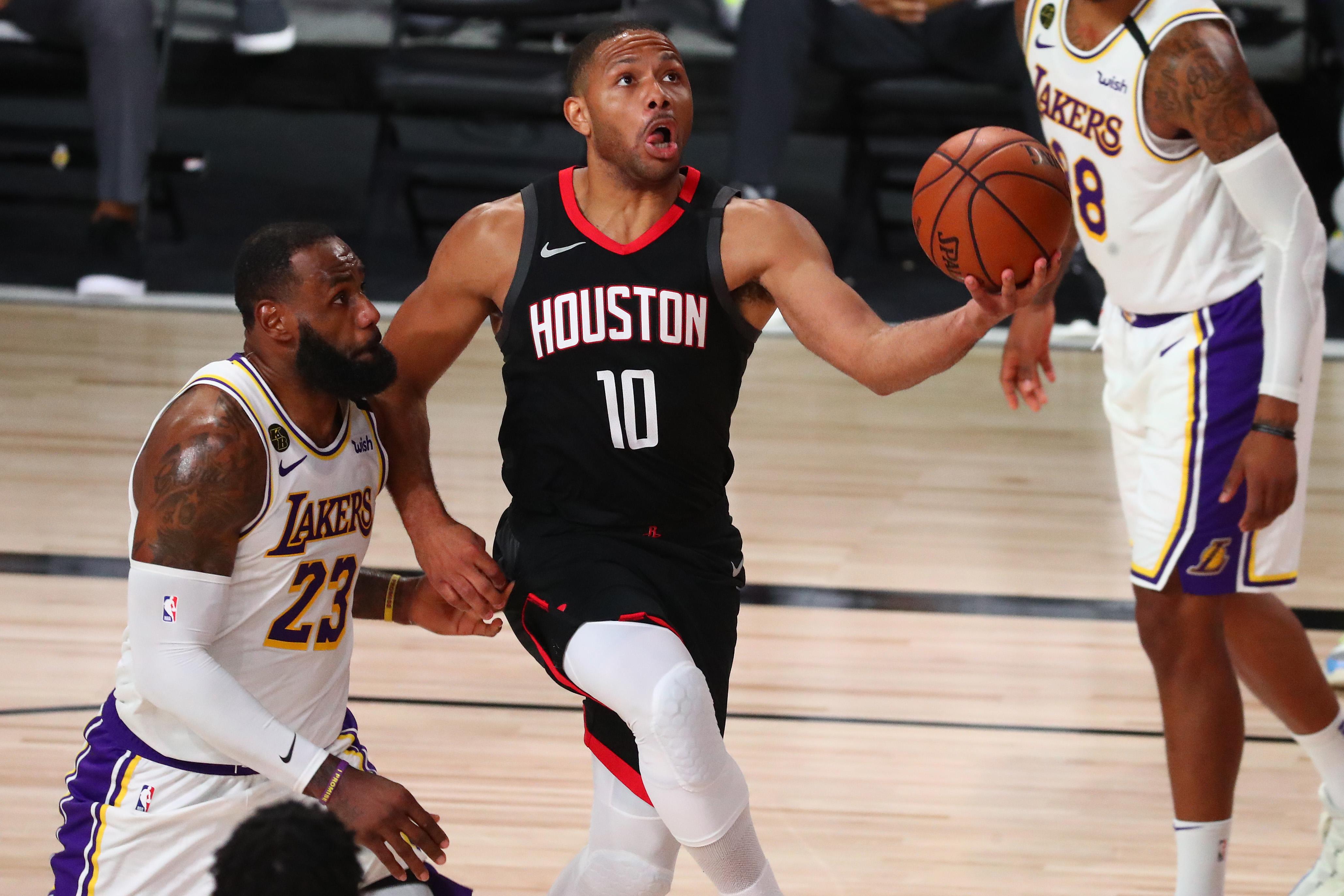 NBA: Playoffs-Los Angeles Lakers at Houston Rockets