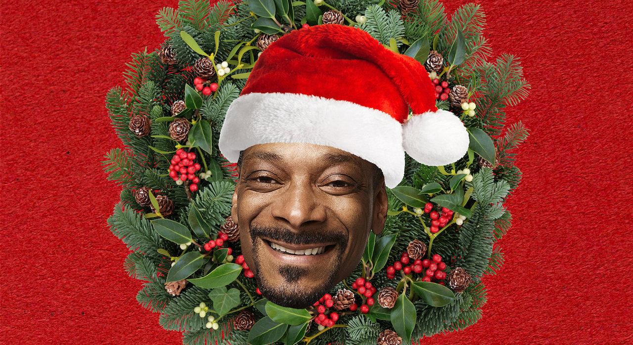 Snoop Dogg's 'Funky Christmas' artwork