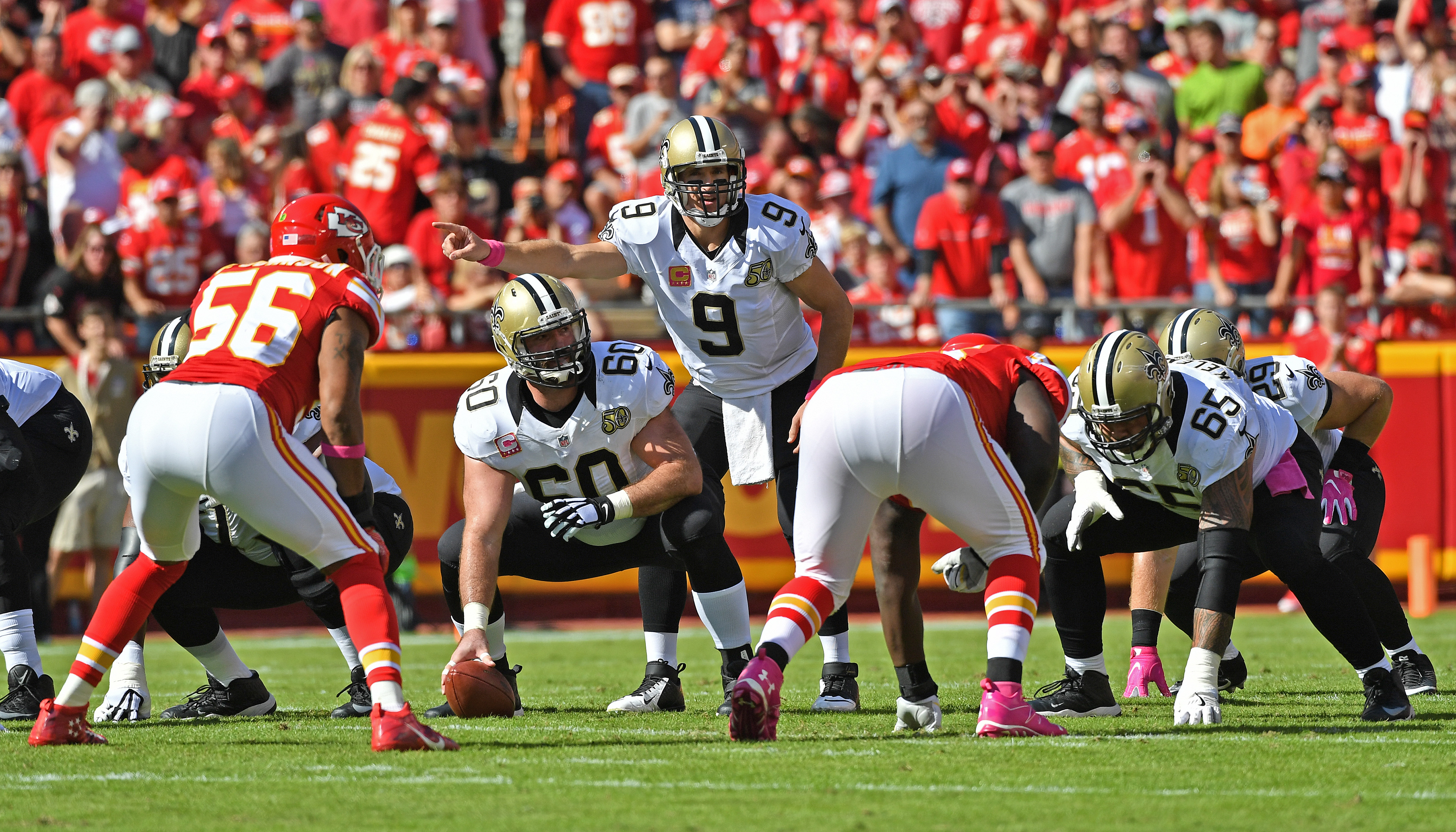 New Orleans Saints v Kansas City Chiefs