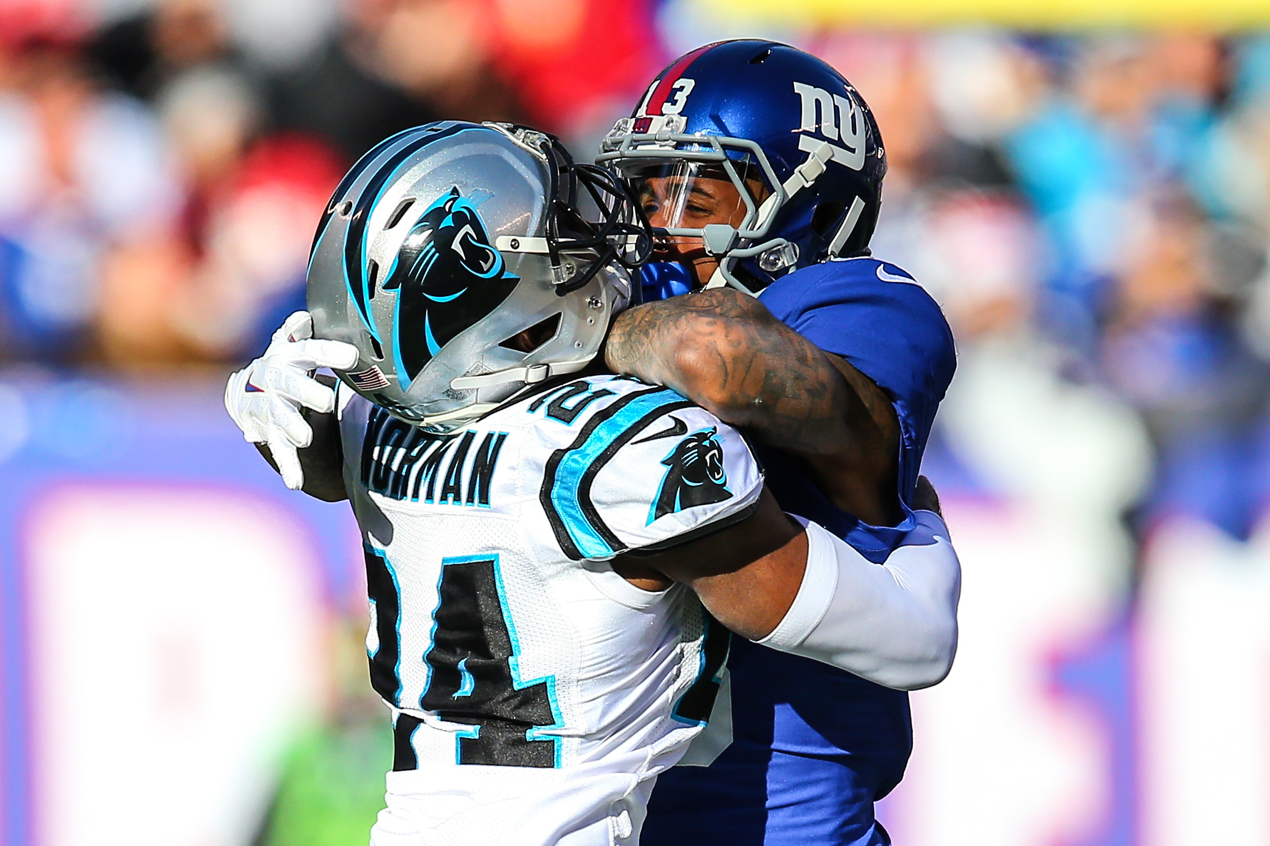 NFL: DEC 20 Panthers at Giants