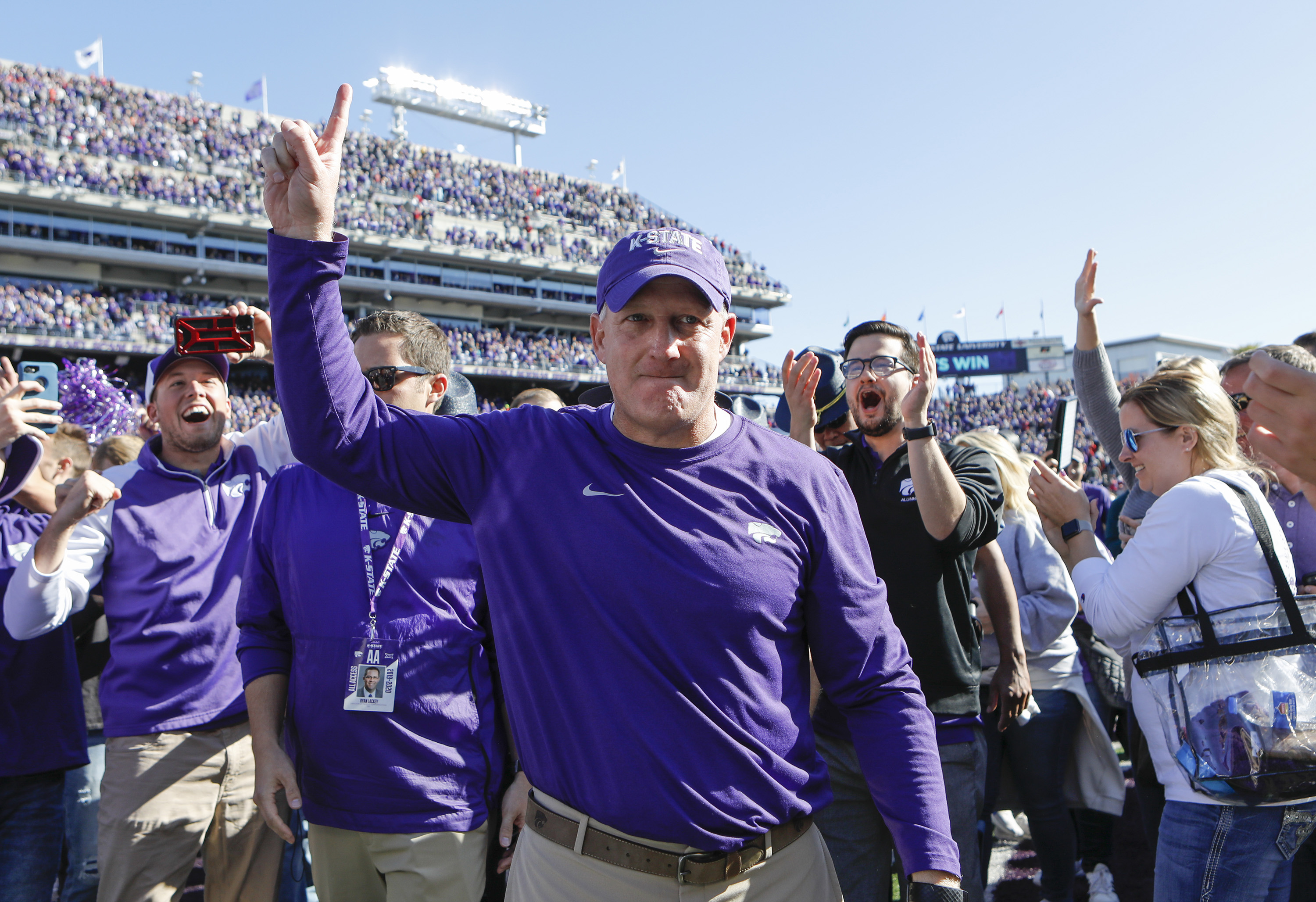 Kansas State shocks Oklahoma, 48-41, beats top -5 team for first time in 13 years
