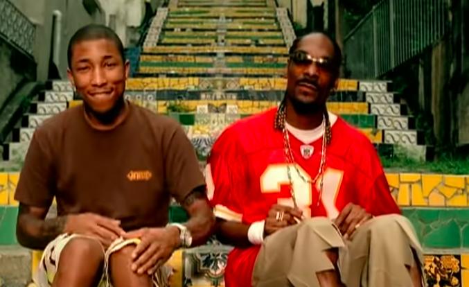 "Pharrell and Snoop Dogg's ""Beautiful"" video"