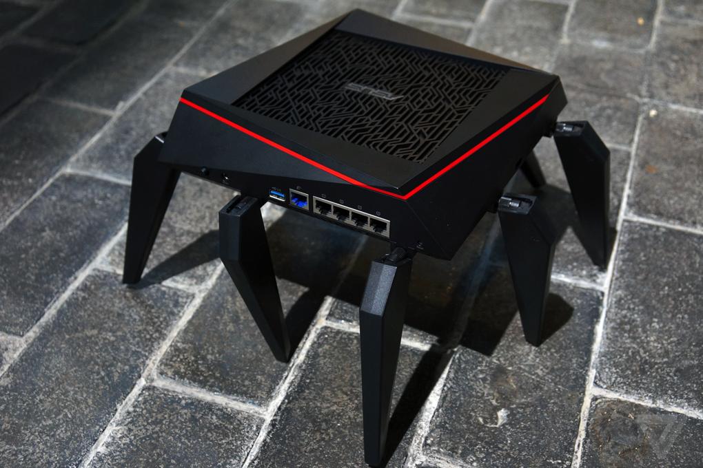Asus's arachnid router