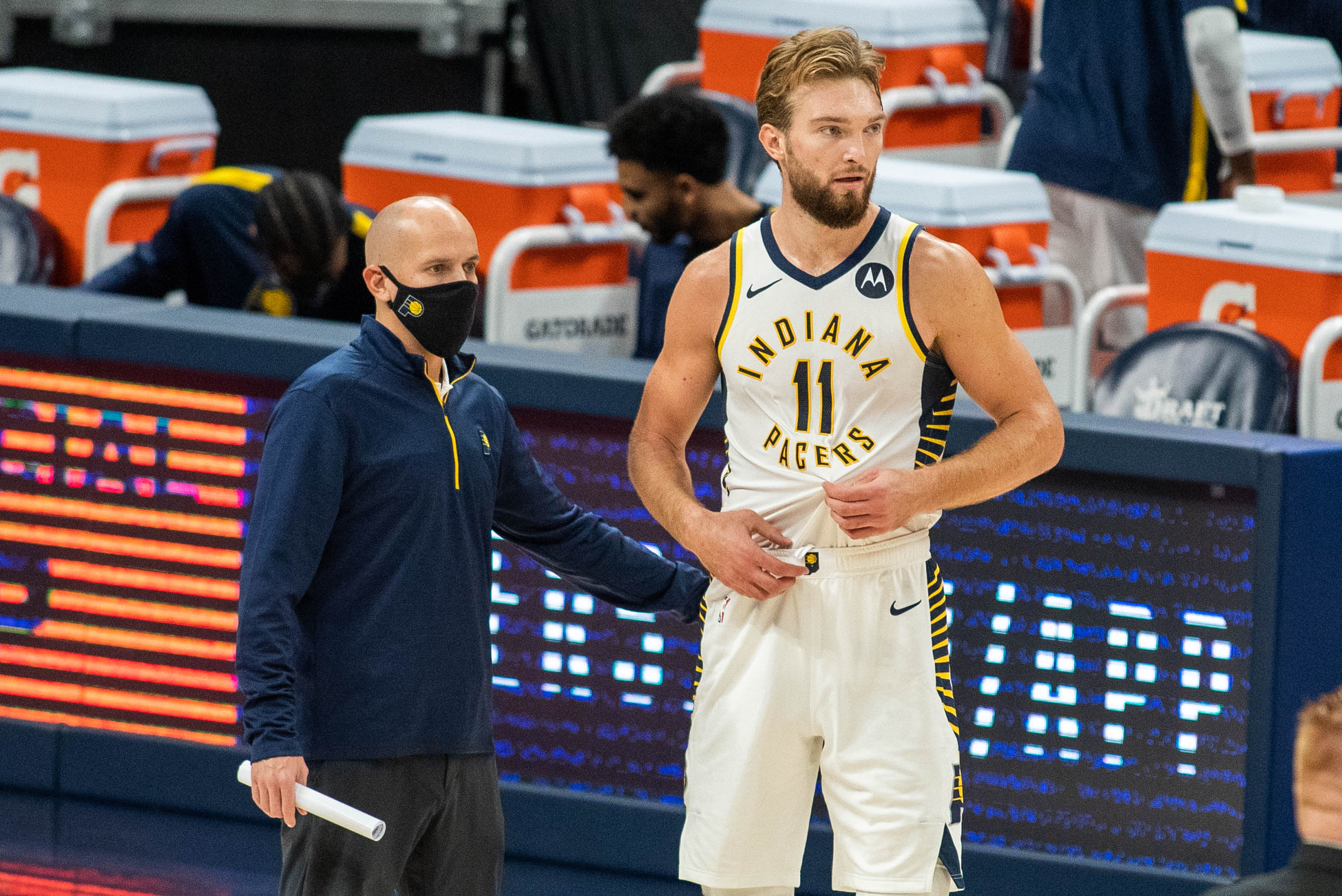 NBA: Preseason-Philadelphia 76ers at Indiana Pacers
