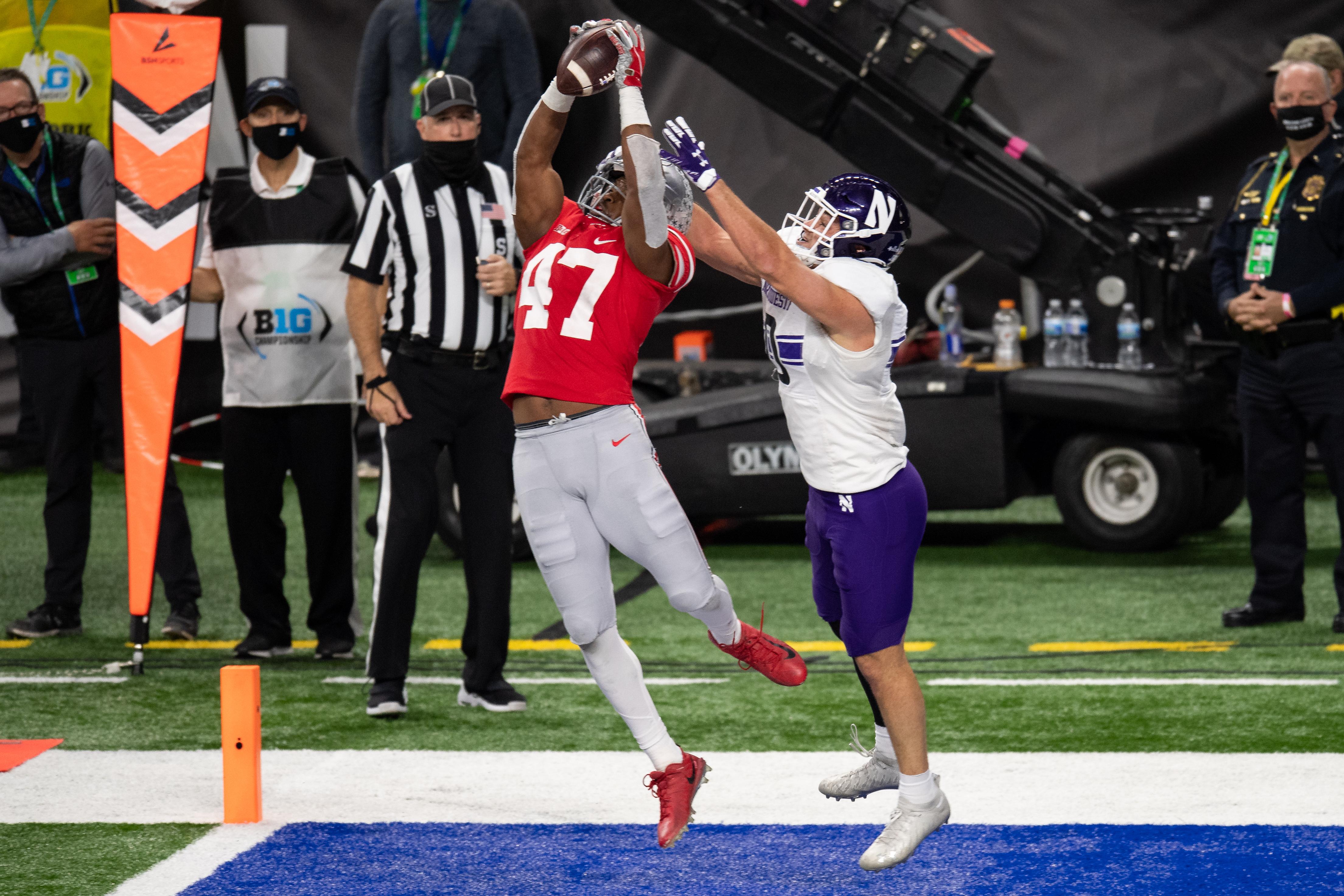 COLLEGE FOOTBALL: DEC 19 Big Ten Championship Game - Northwestern v Ohio State