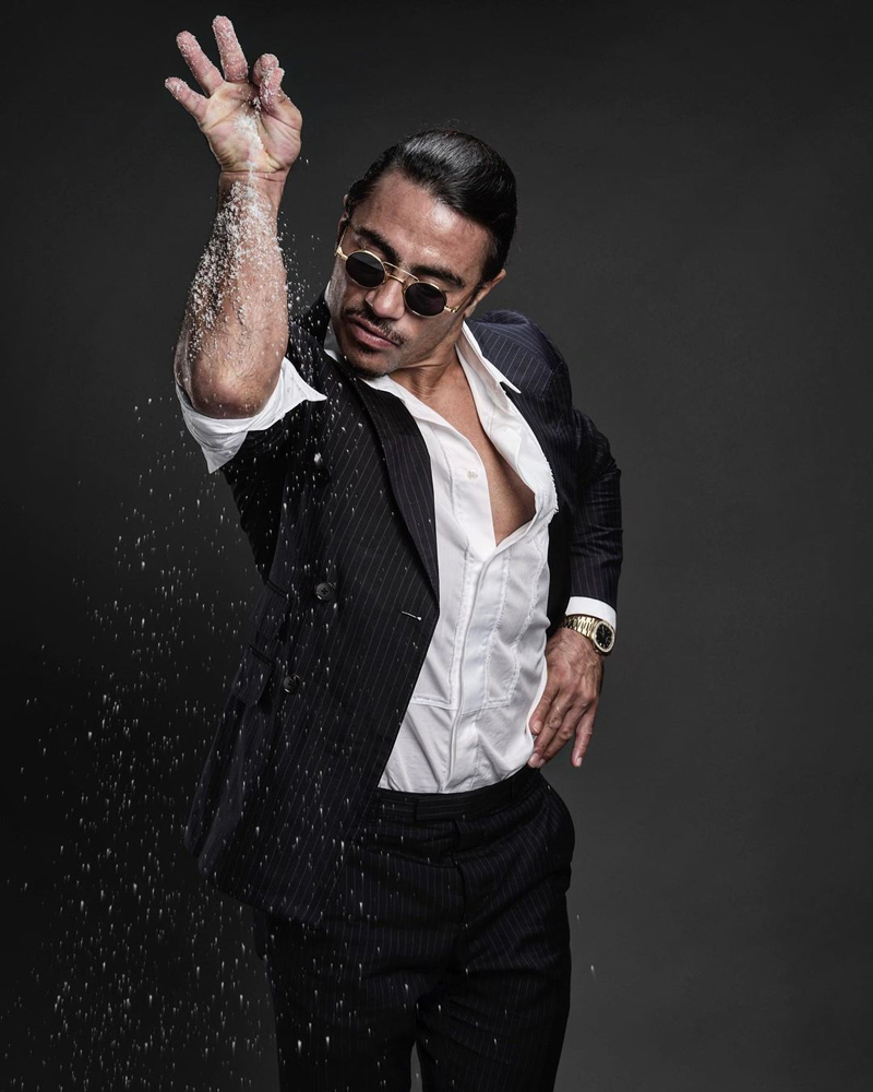 Restaurateur Nusret Gökçe, aka Salt Bae, is bringing his Nusr-Et Steakhouse restaurant to the Strip.
