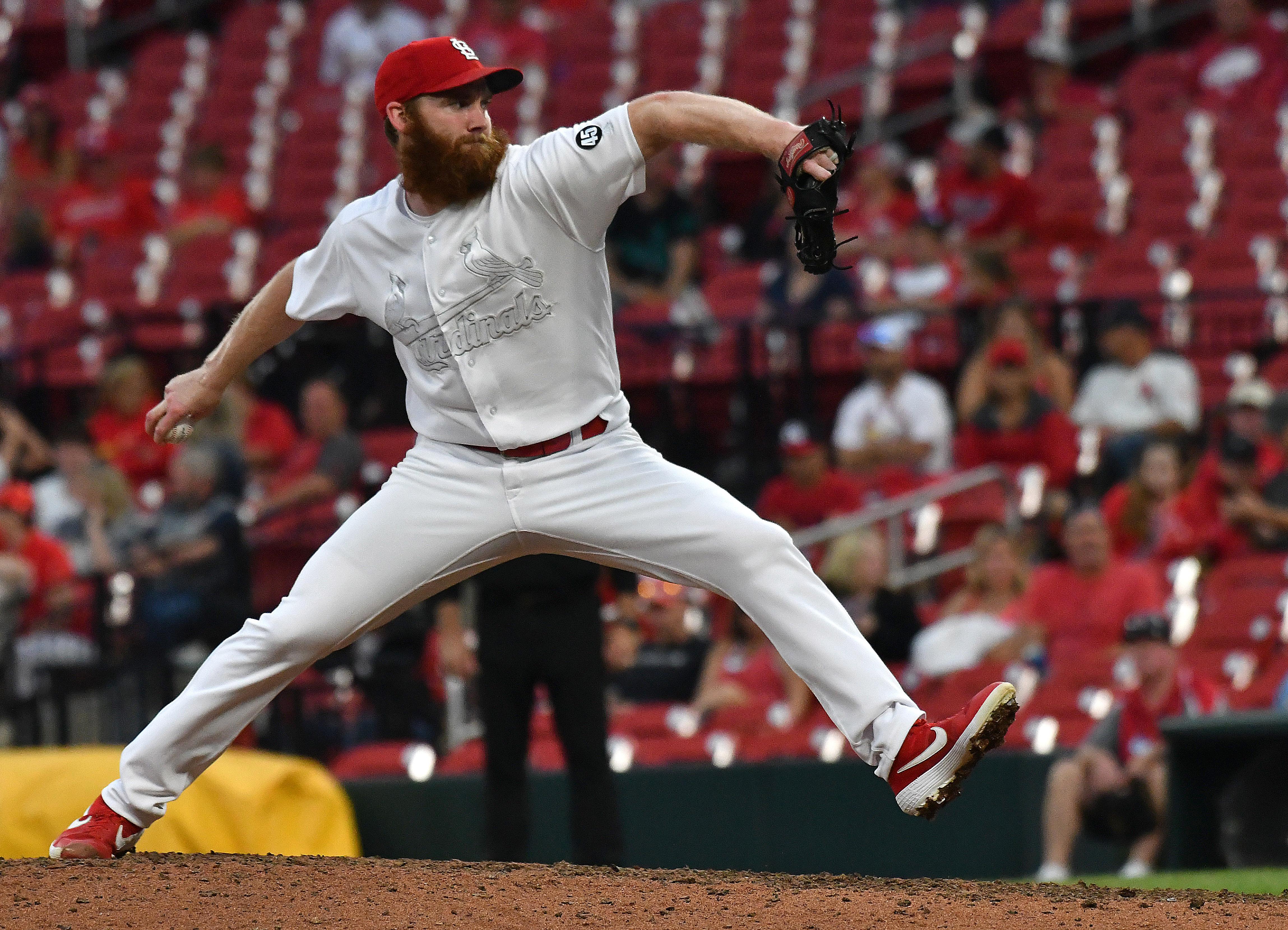 MLB: AUG 25 Rockies at Cardinals