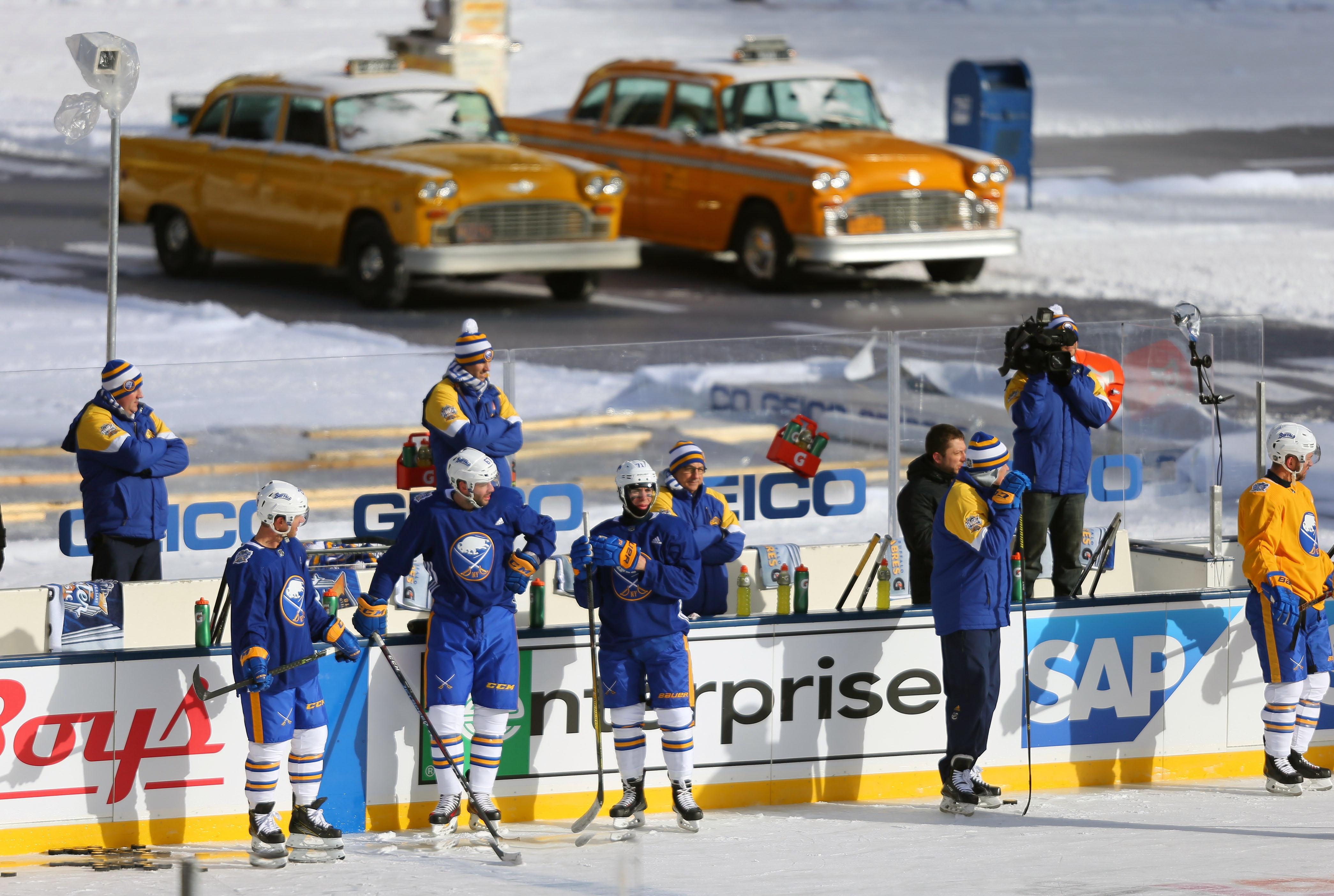 NHL: Winter Classic-Practice