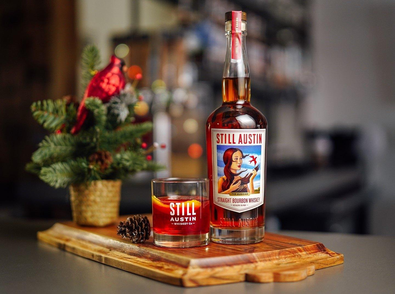 Still Austin Whiskey's straight bourbon whiskey