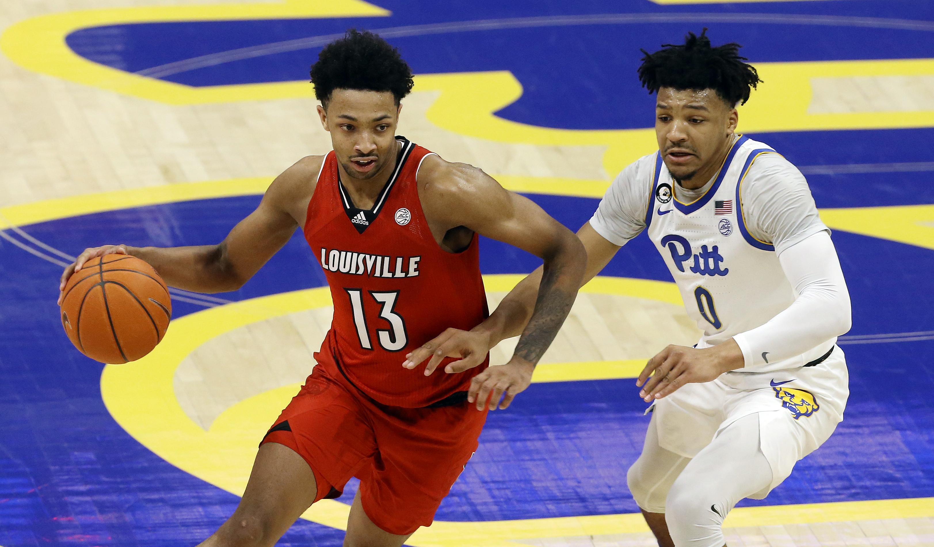 NCAA Basketball: Louisville at Pittsburgh