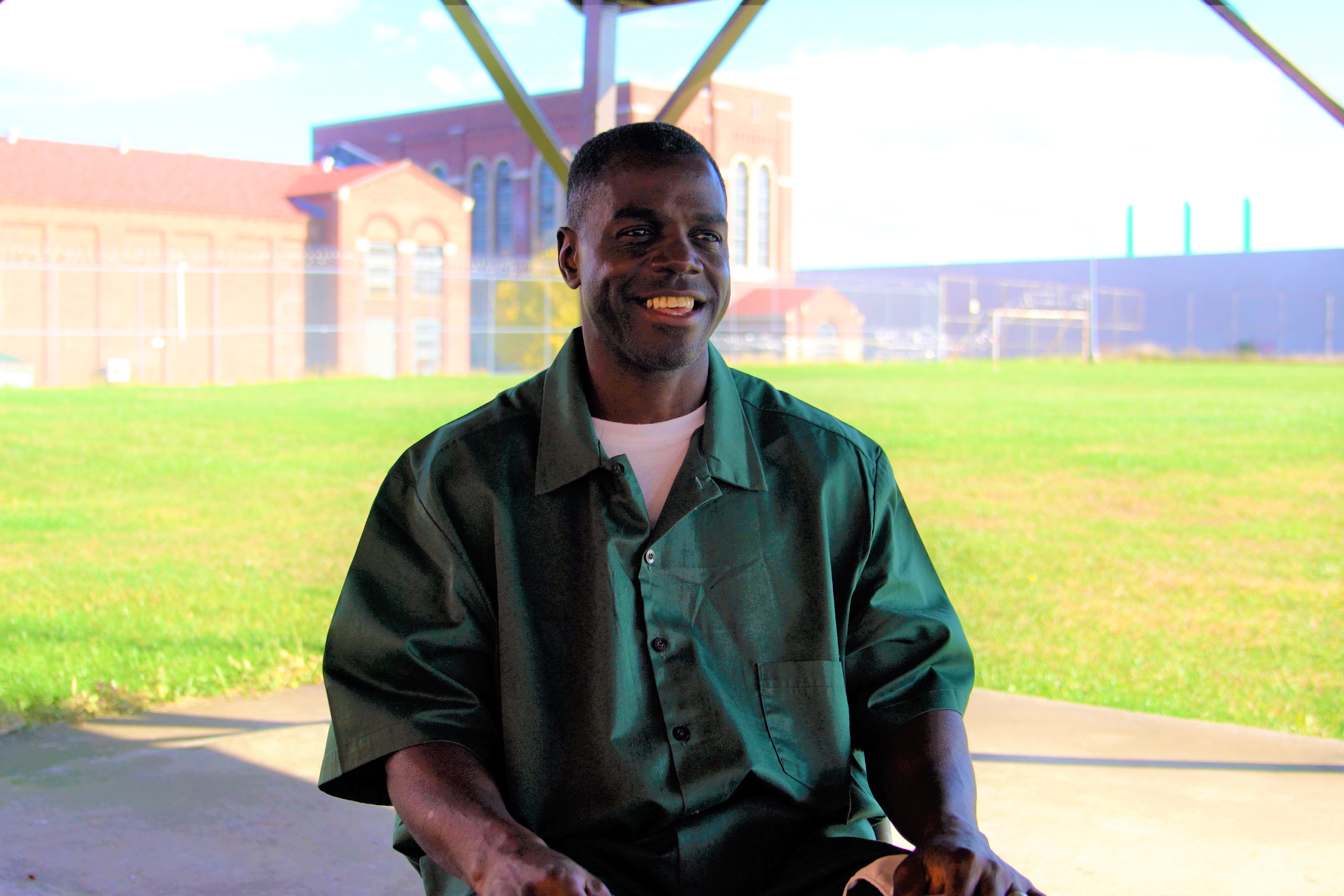 Frank Pruitt has been behind bars for 31 years, during which time he has gotten married and confronted childhood trauma.