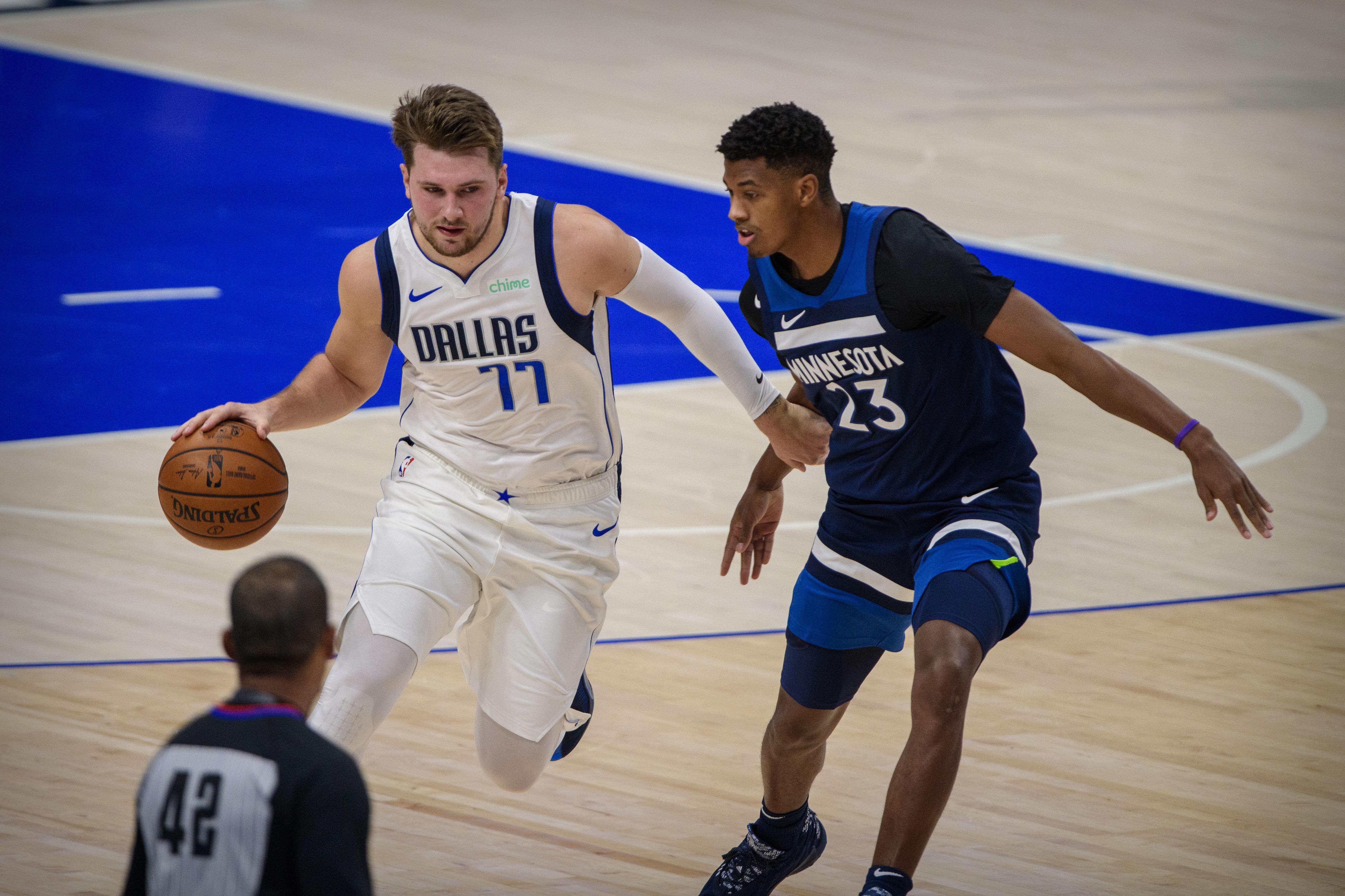 NBA: Preseason-Minnesota Timberwolves at Dallas Mavericks