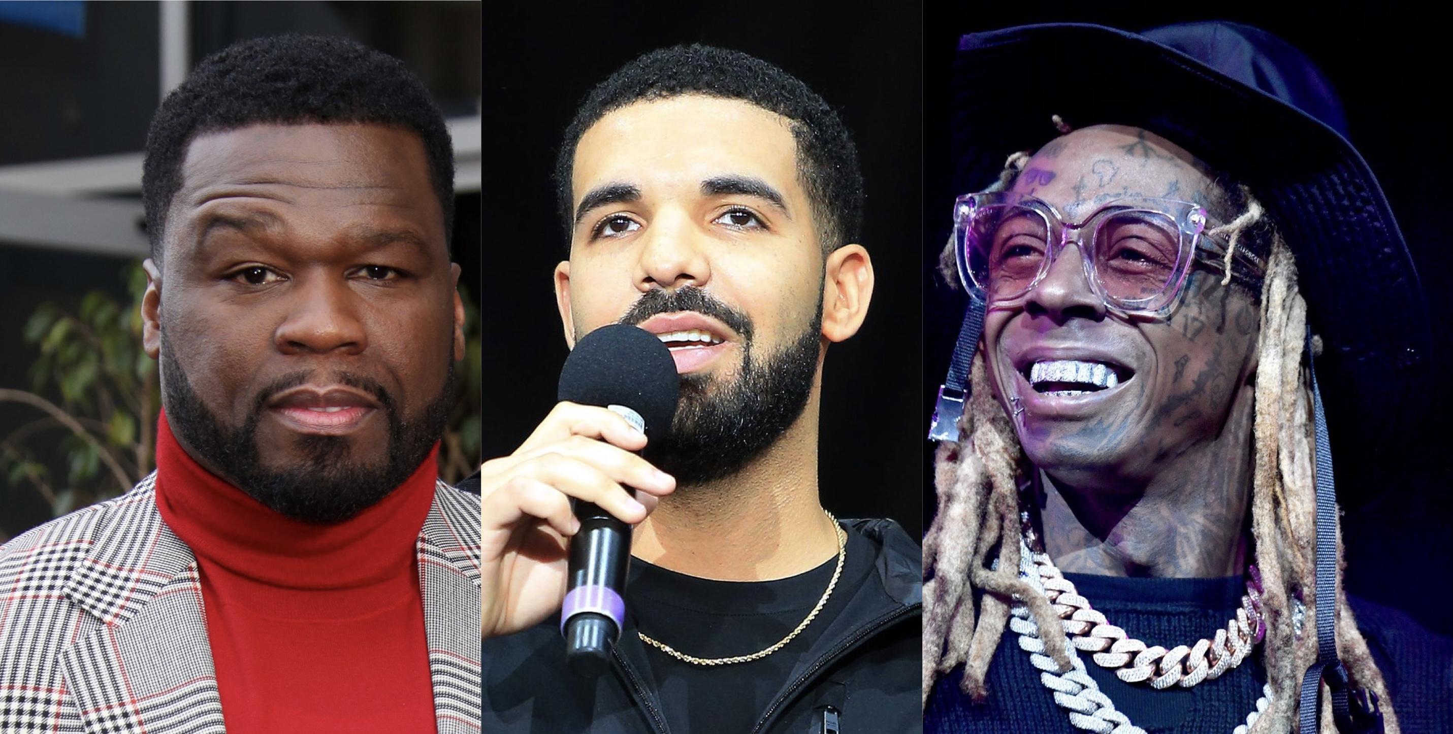 50 Cent, Drake, Lil Wayne
