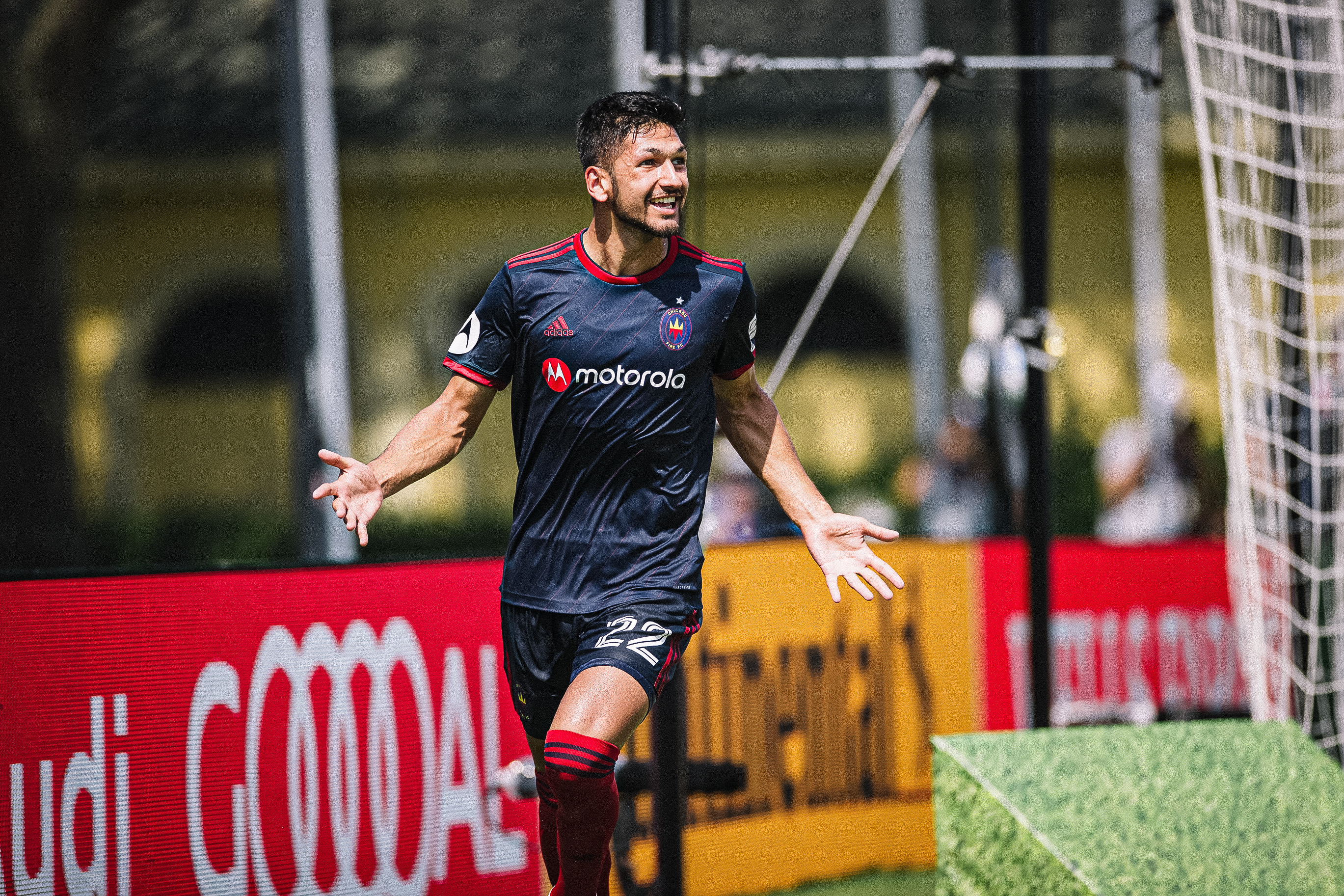 Mauricio Pineda figures to be a key part of the Fire's future.