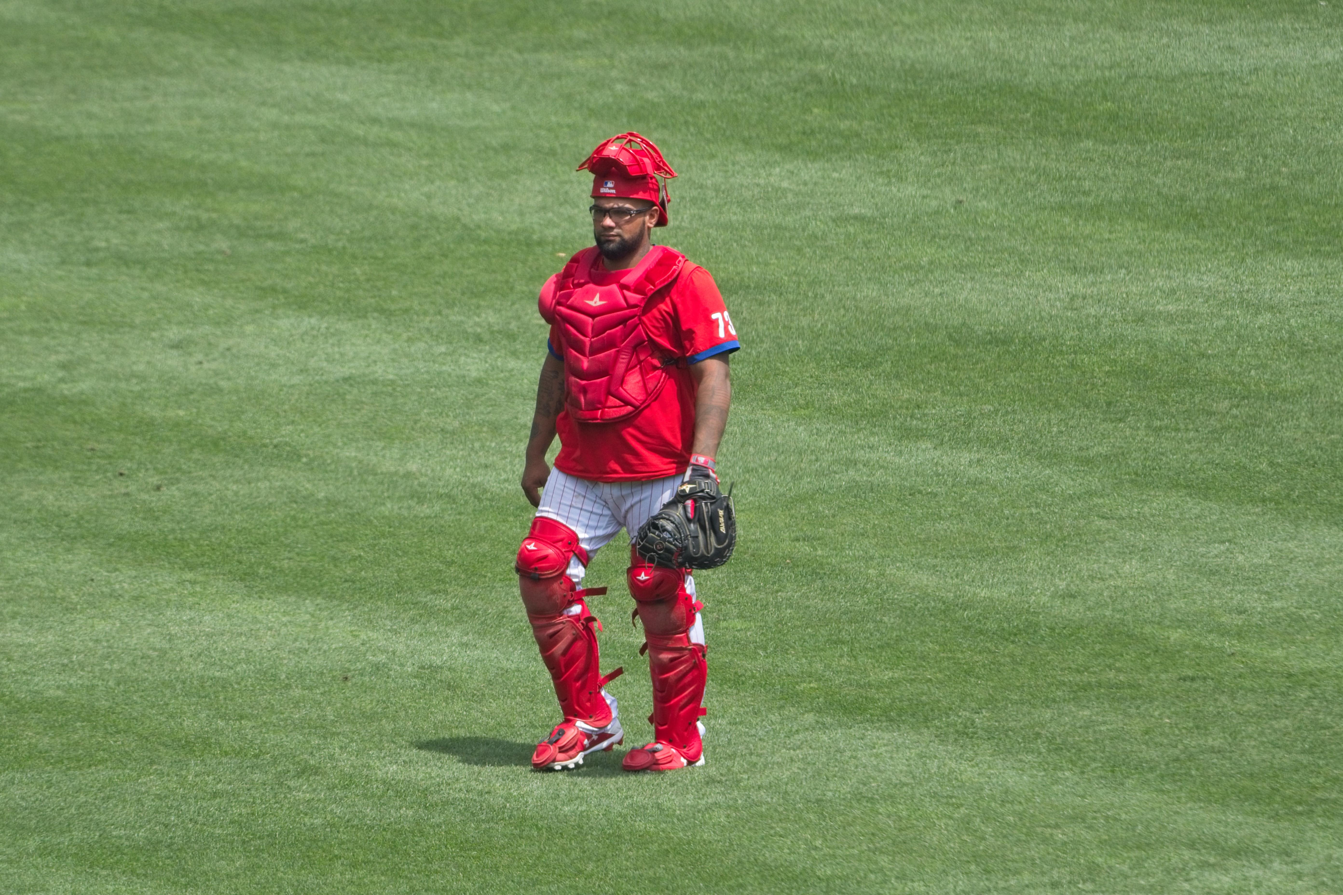 MLB: JUL 08 Phillies Summer Camp