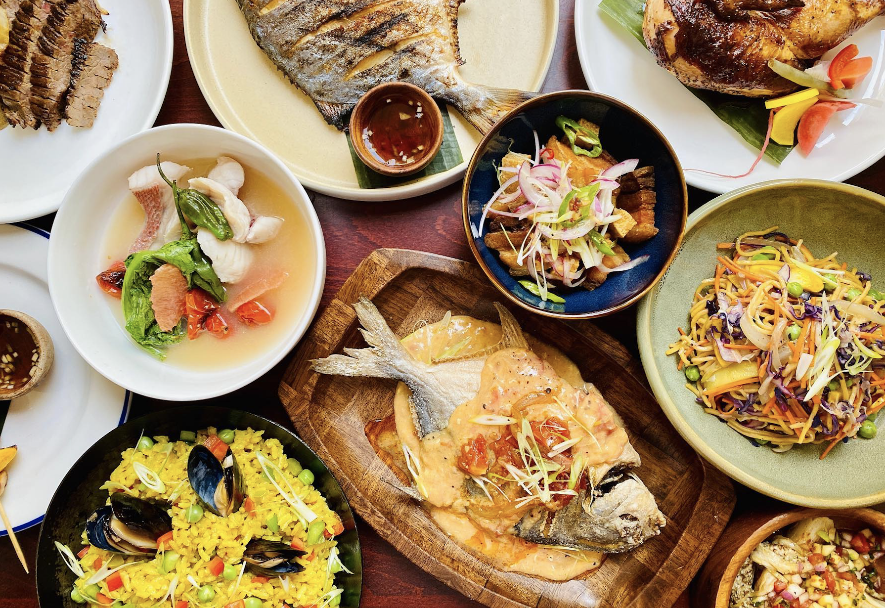 Fried fish and other Filipino dishes at Musang in Seattle