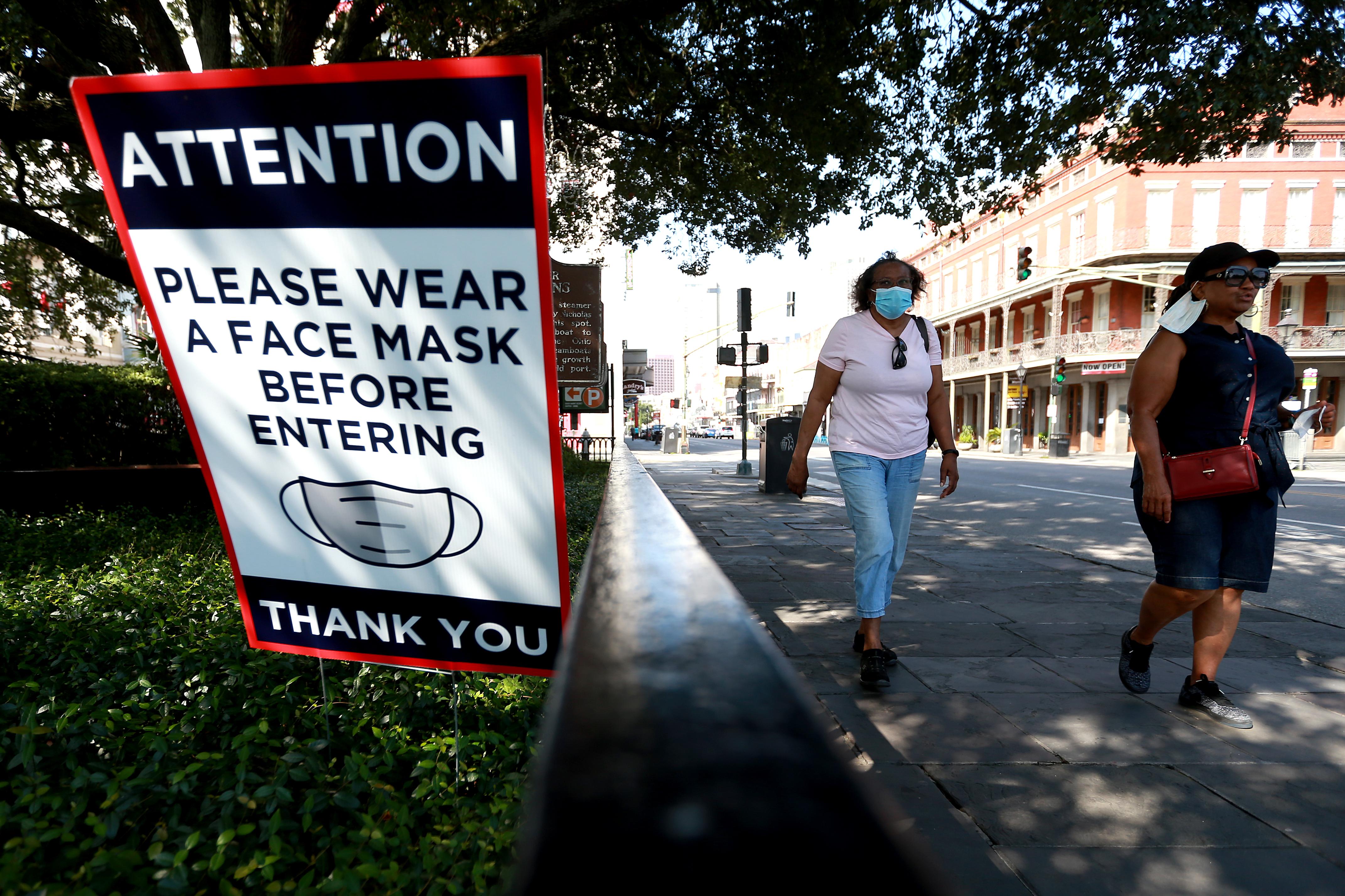 Louisiana Pulls Back On Reopening Economy As Coronavirus Hospitalizations Rise