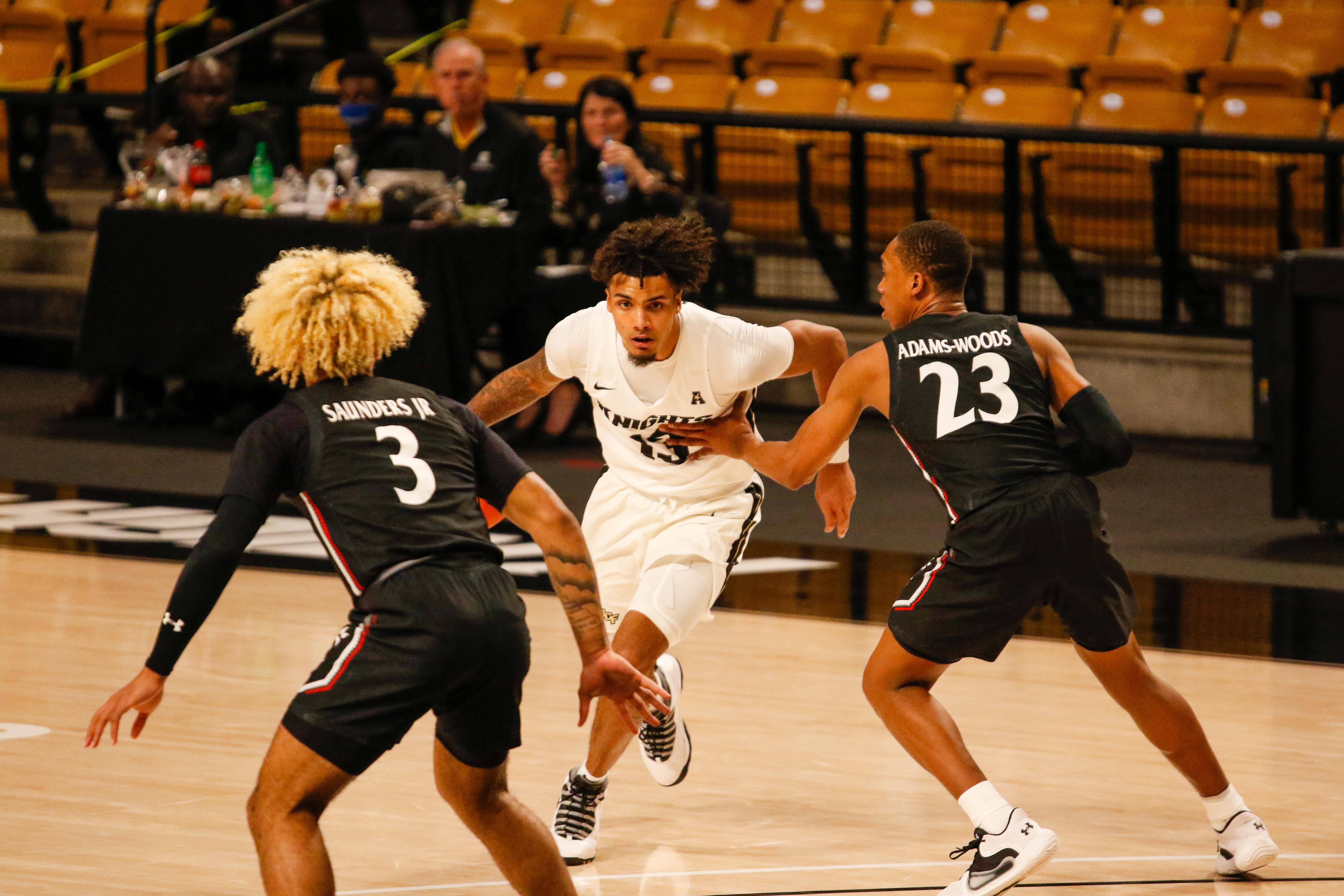 Brandon Mahan UCF Men's Basketball 2020 2021 Cincinnati
