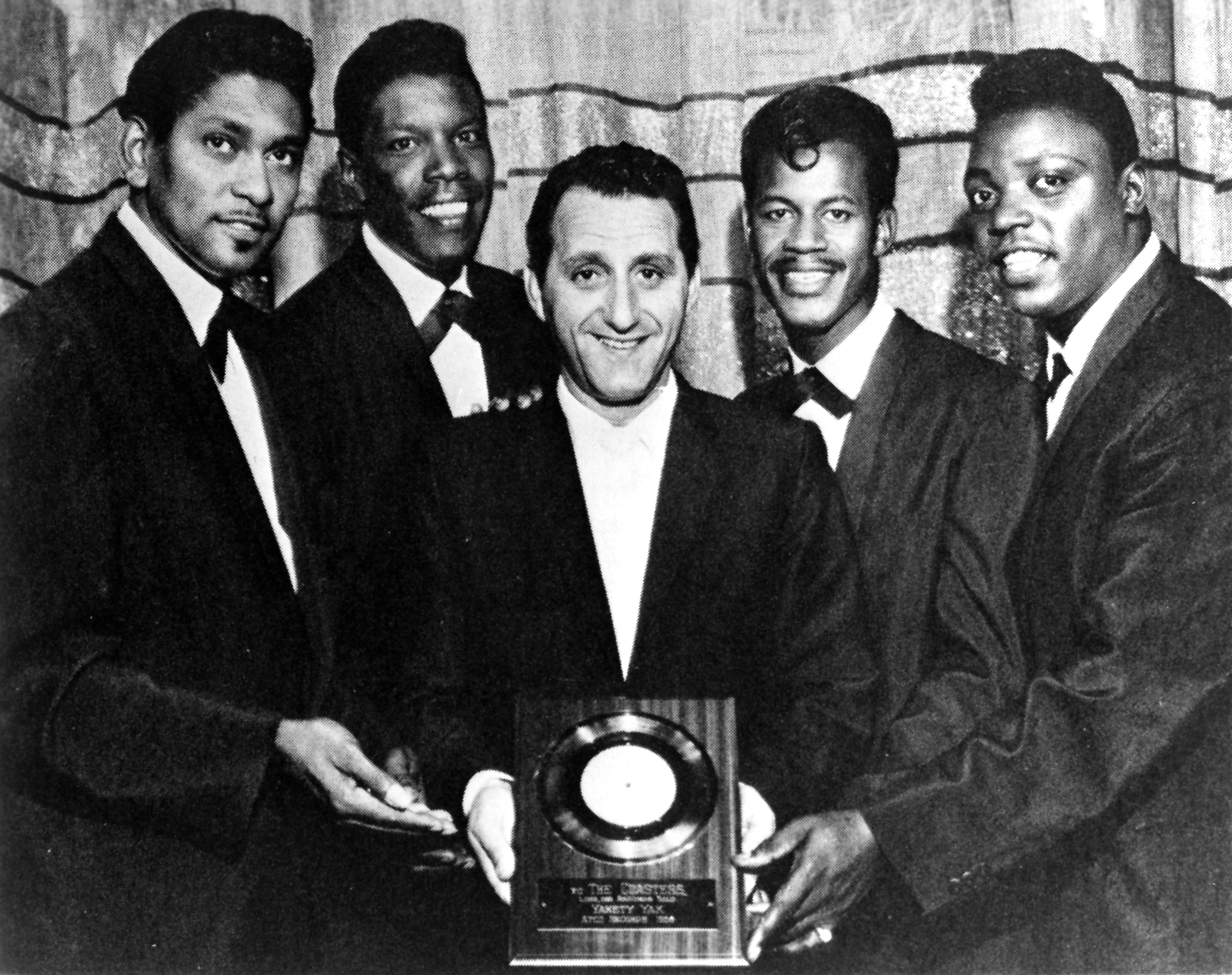 """Coasters Receive Gold Record For """"Yakety Yak"""""""