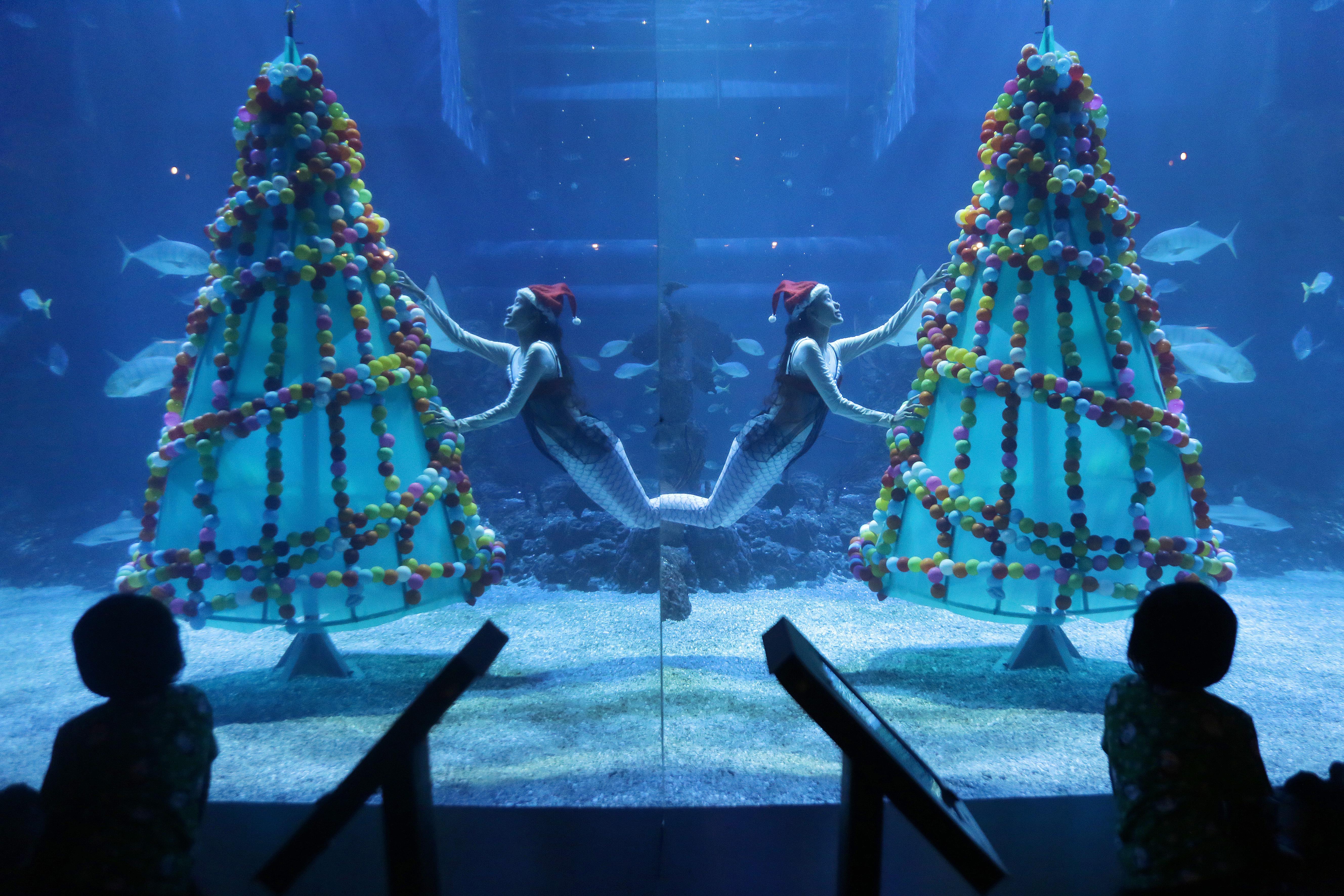 Christmas celebration in Jakarta