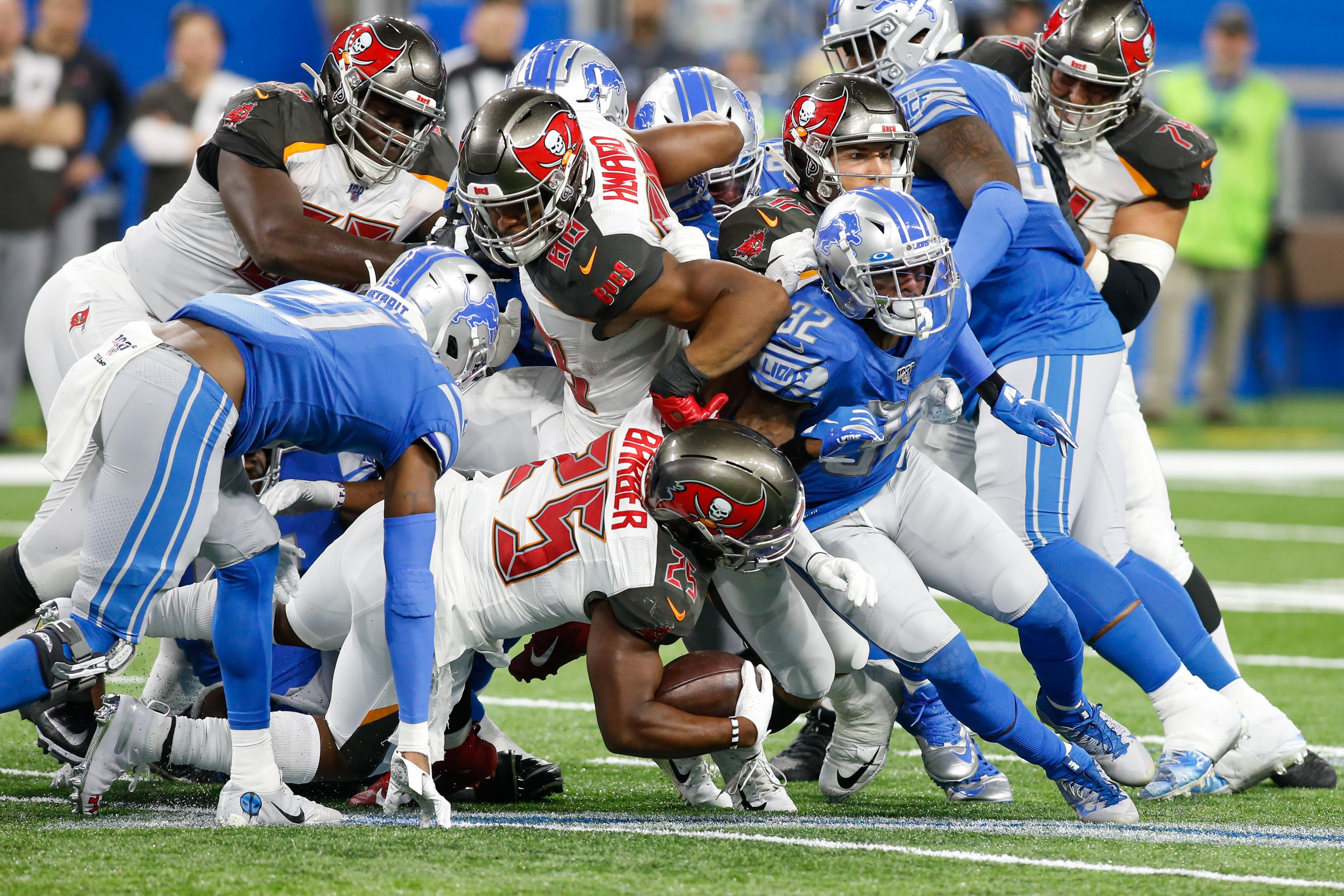 NFL: DEC 15 Buccaneers at Lions