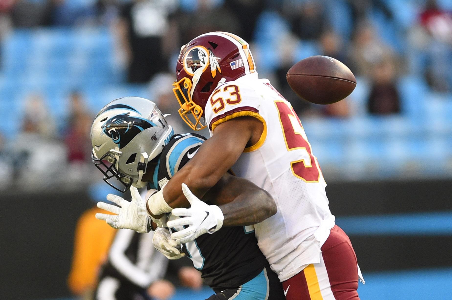 NFL: Washington Redskins at Carolina Panthers