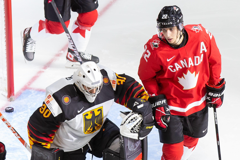 Germany v Canada: Preliminary Round Group A - 2021 IIHF World Junior Championship
